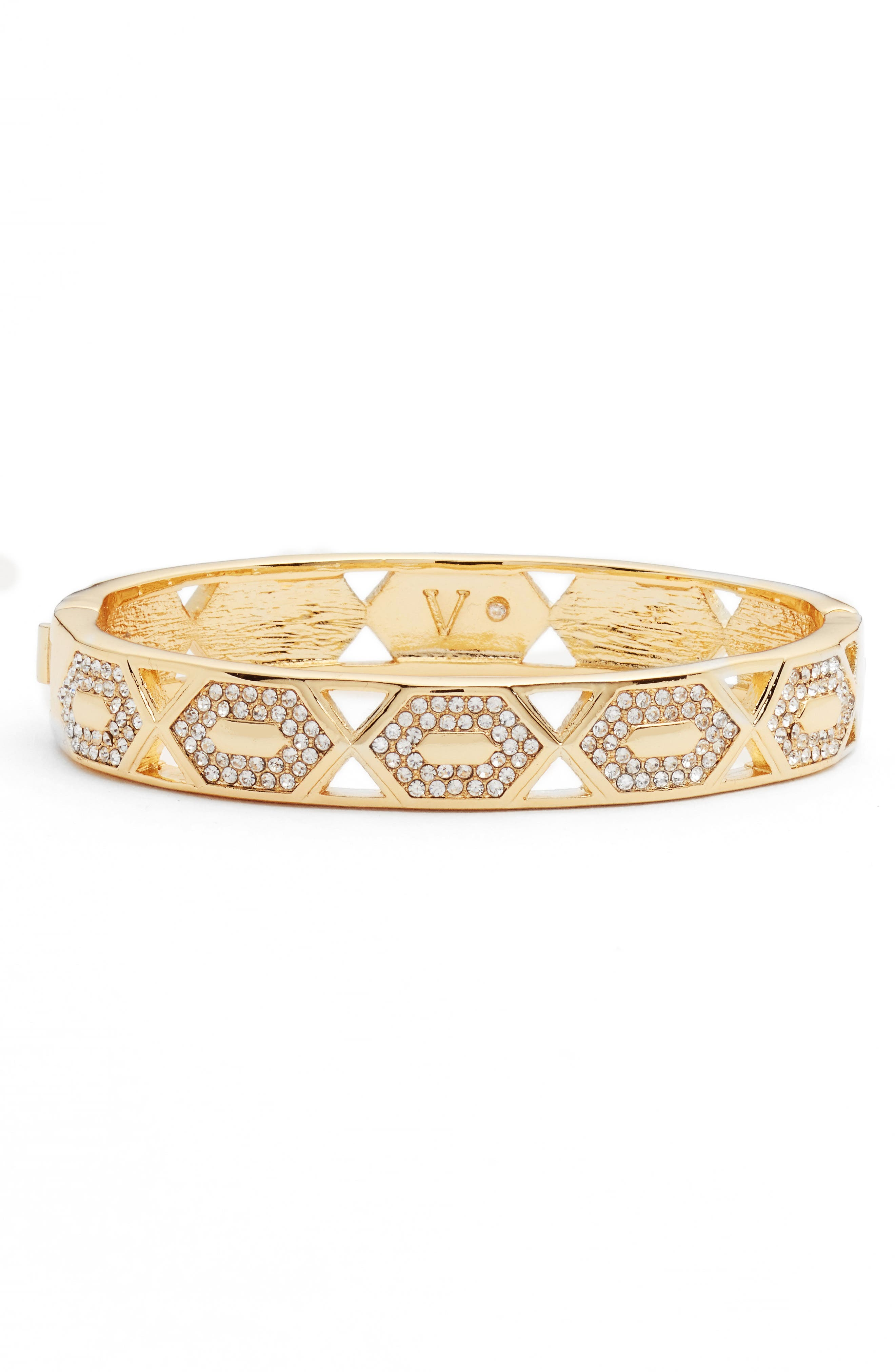 Alternate Image 1 Selected - Vince Camuto Pavé Crystal Bangle