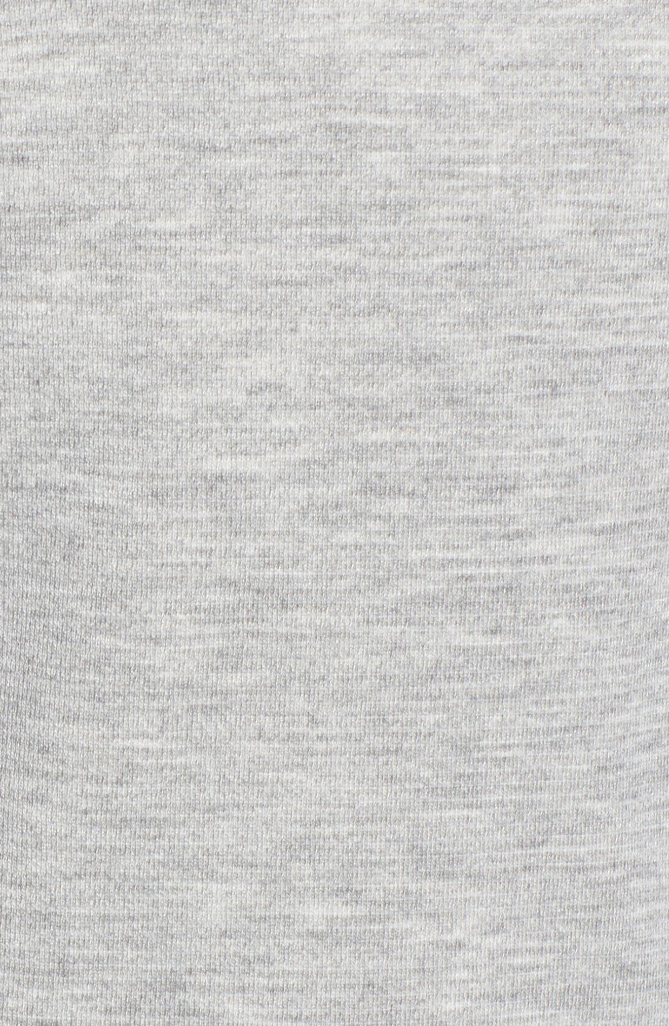 Knit Blazer,                             Alternate thumbnail 5, color,                             Heather Grey