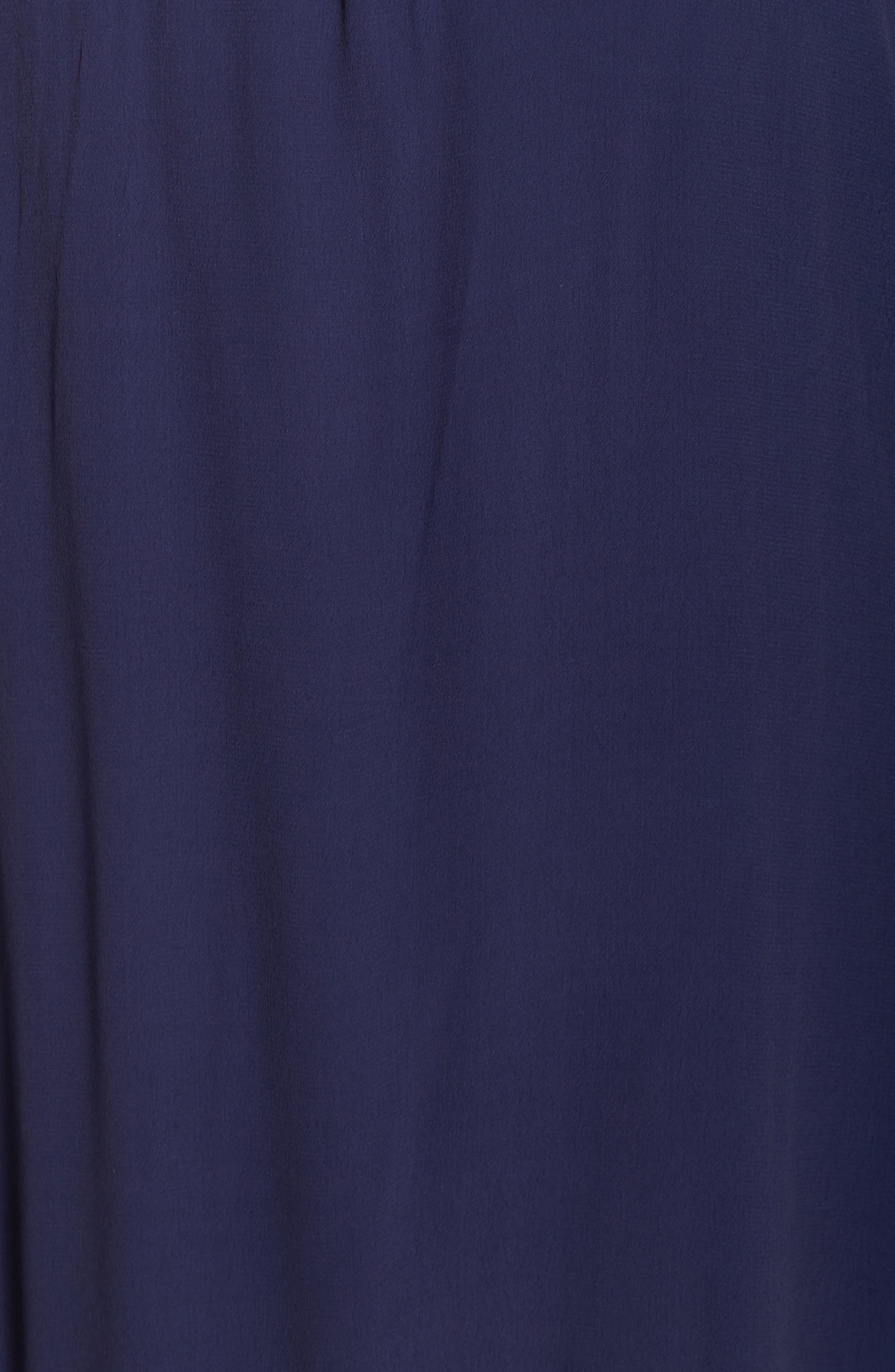 Alternate Image 5  - Muche et Muchette Jolie Lace Accent Cover-Up Dress (Plus-Size)