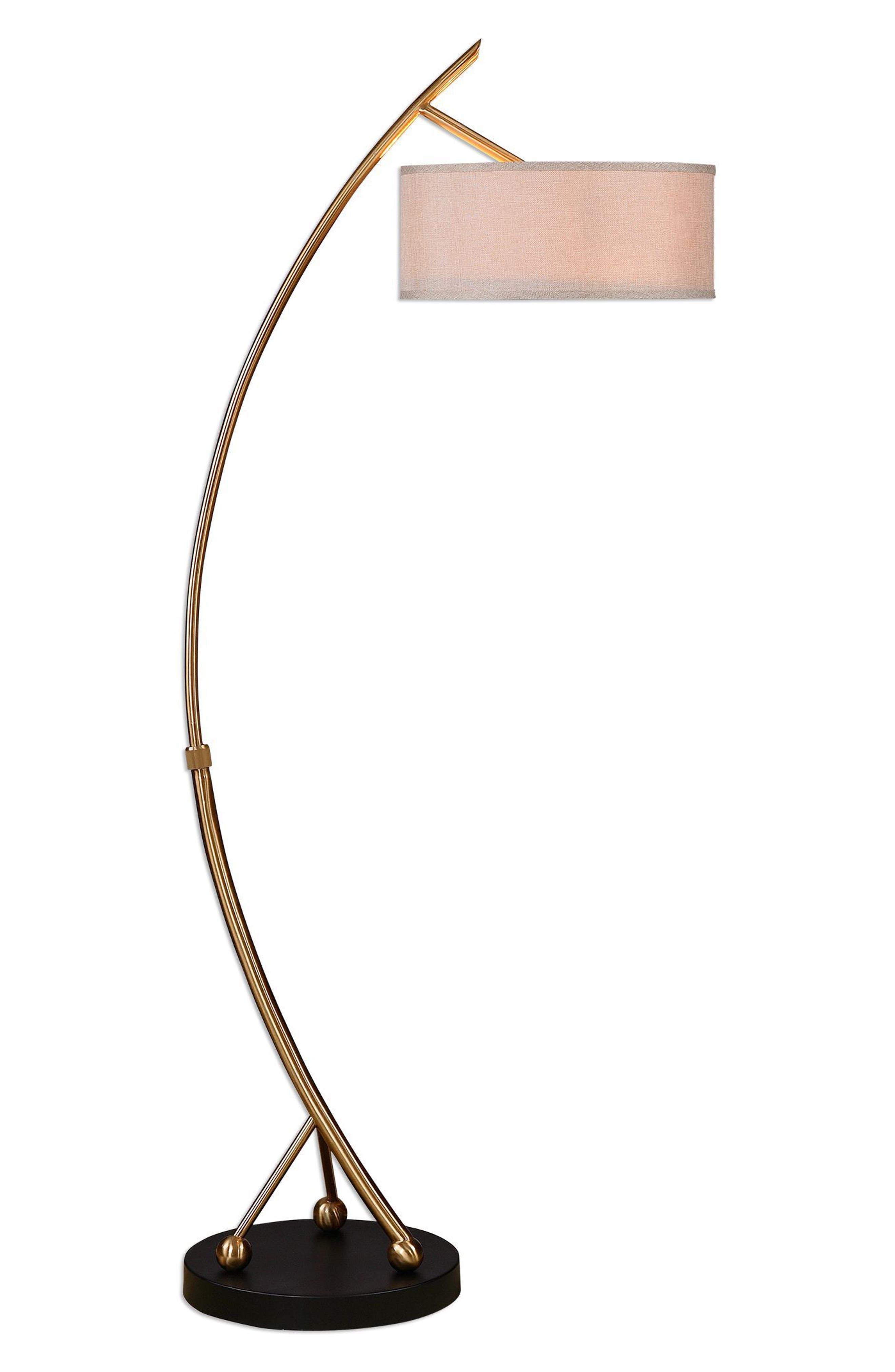 Vardar Floor Lamp,                         Main,                         color, Brown
