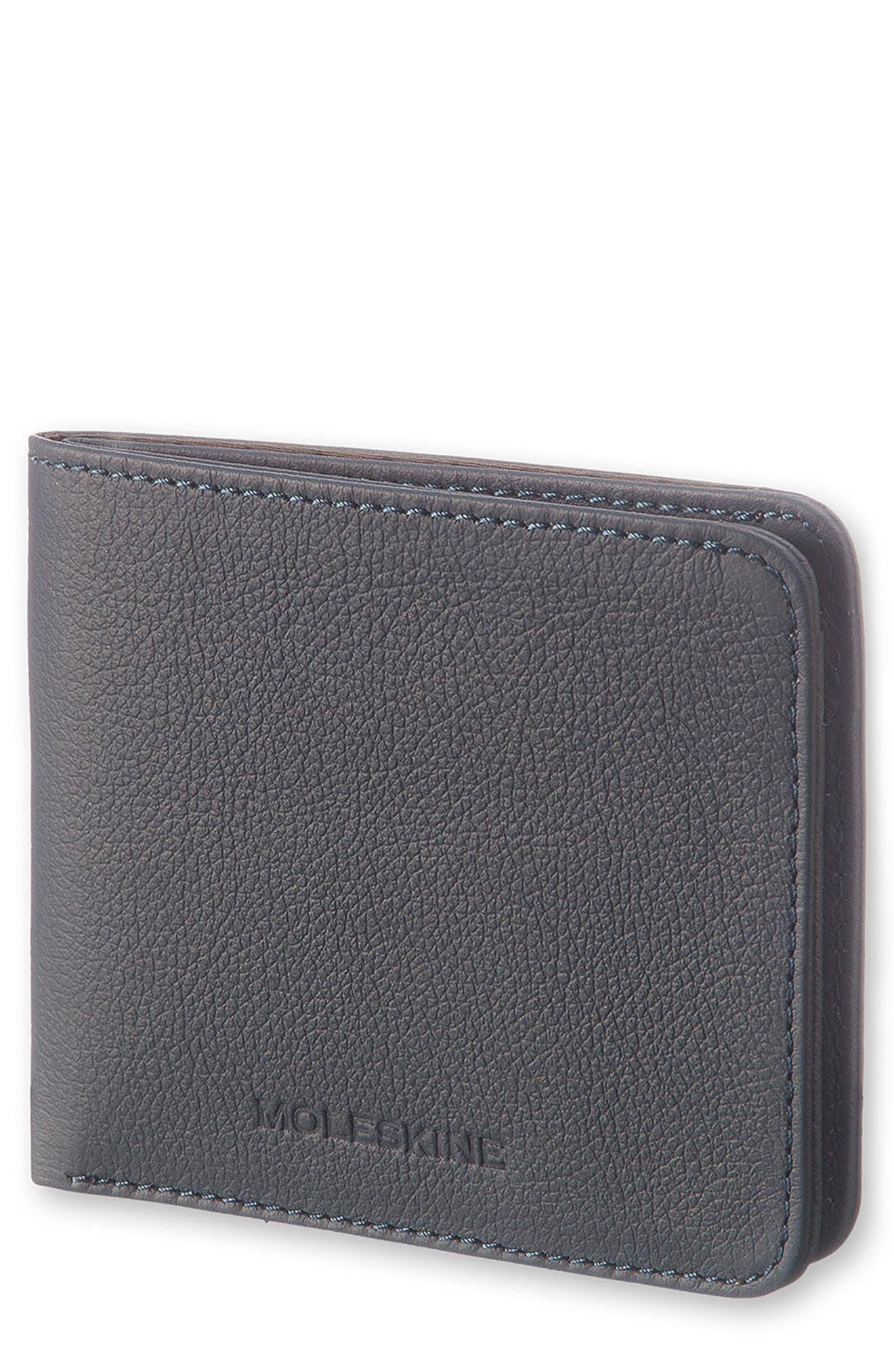 Moleskine Lineage Leather Wallet