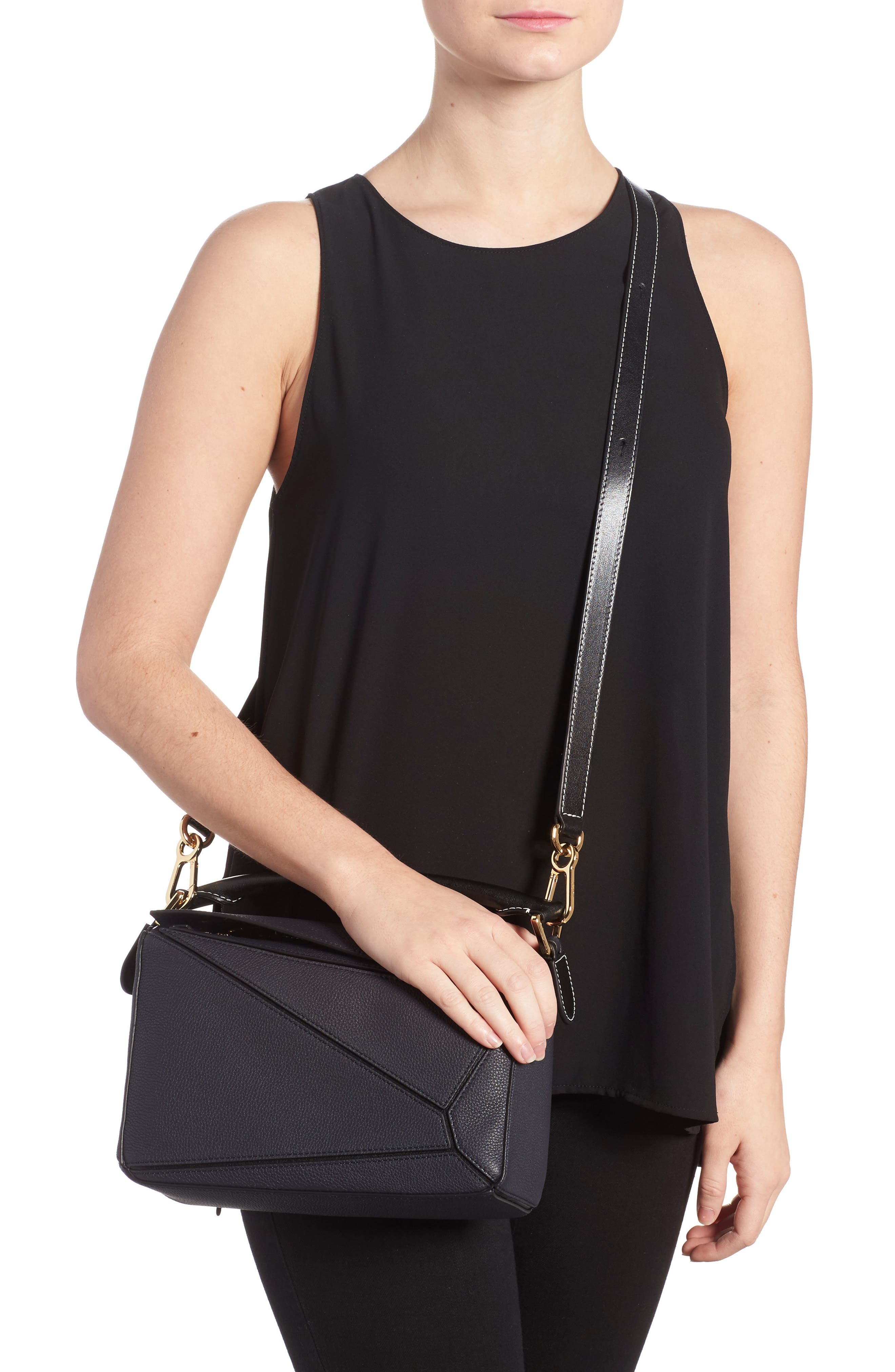 Alternate Image 2  - Loewe Small Puzzle Leather Bag