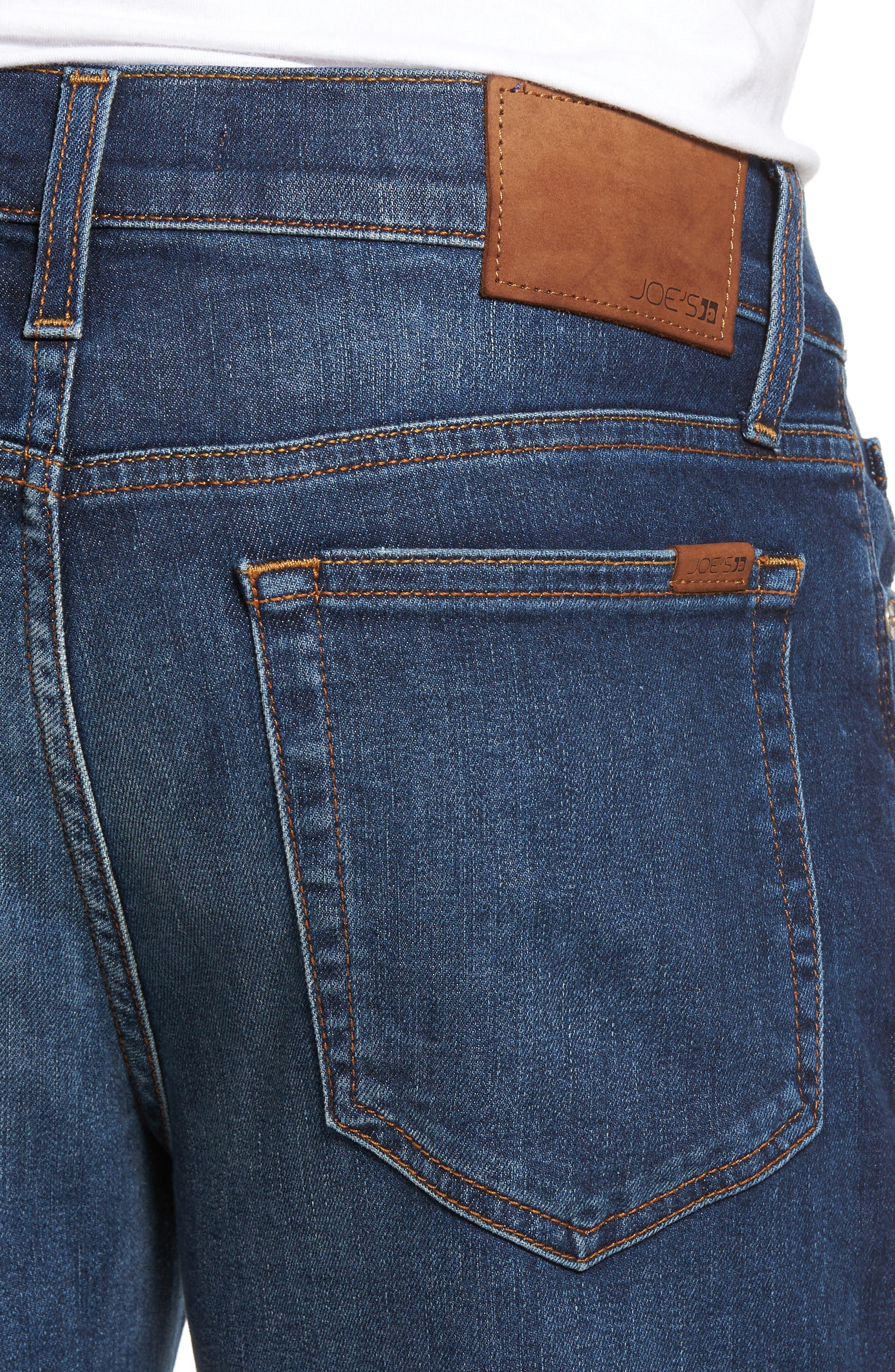 Slim Fit Jeans,                             Alternate thumbnail 4, color,                             Yates