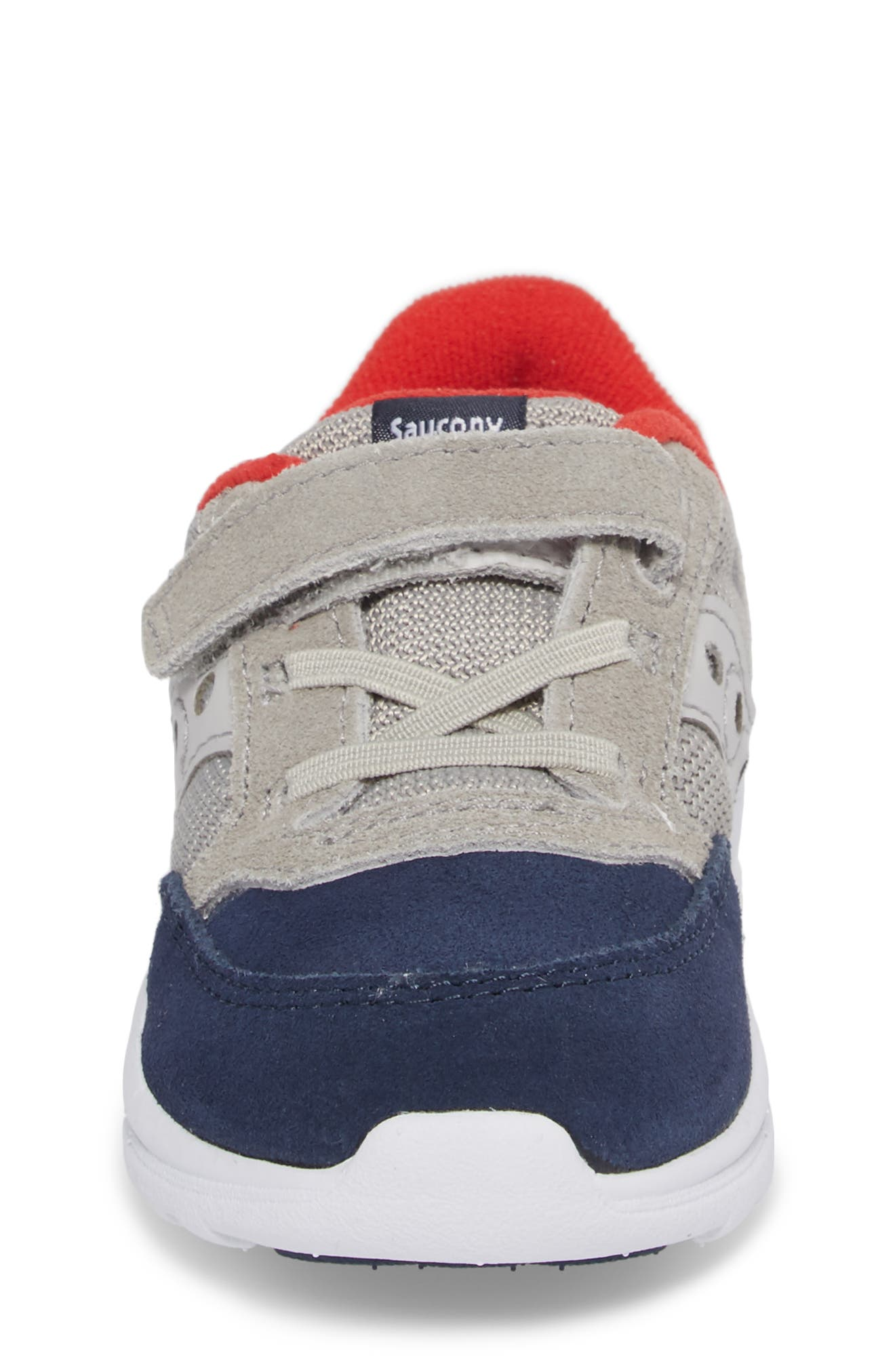 Jazz Lite Sneaker,                             Alternate thumbnail 4, color,                             Grey