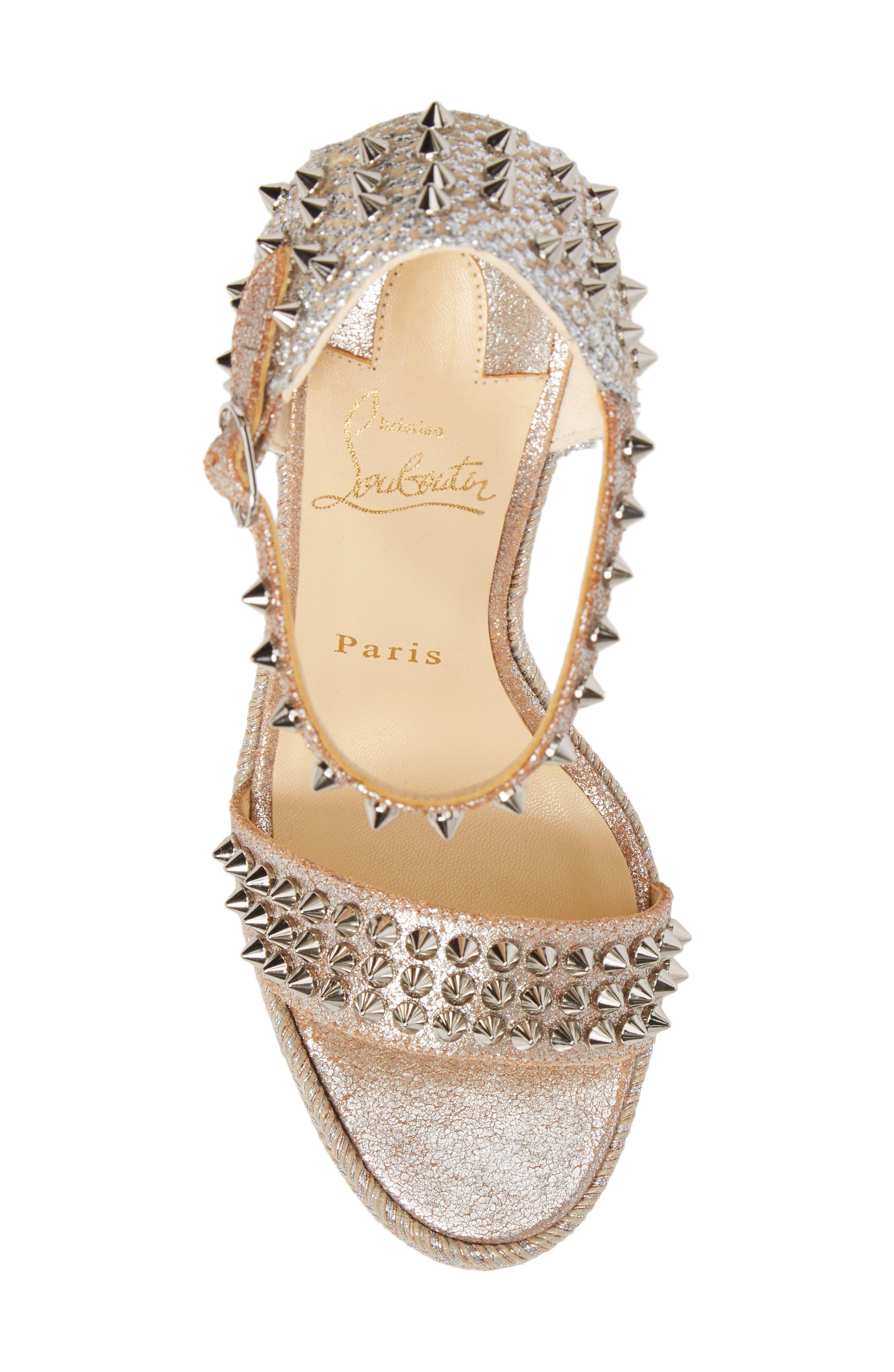 Alternate Image 5  - Christian Louboutin Madmonica Espadrille Platform Sandal (Women)