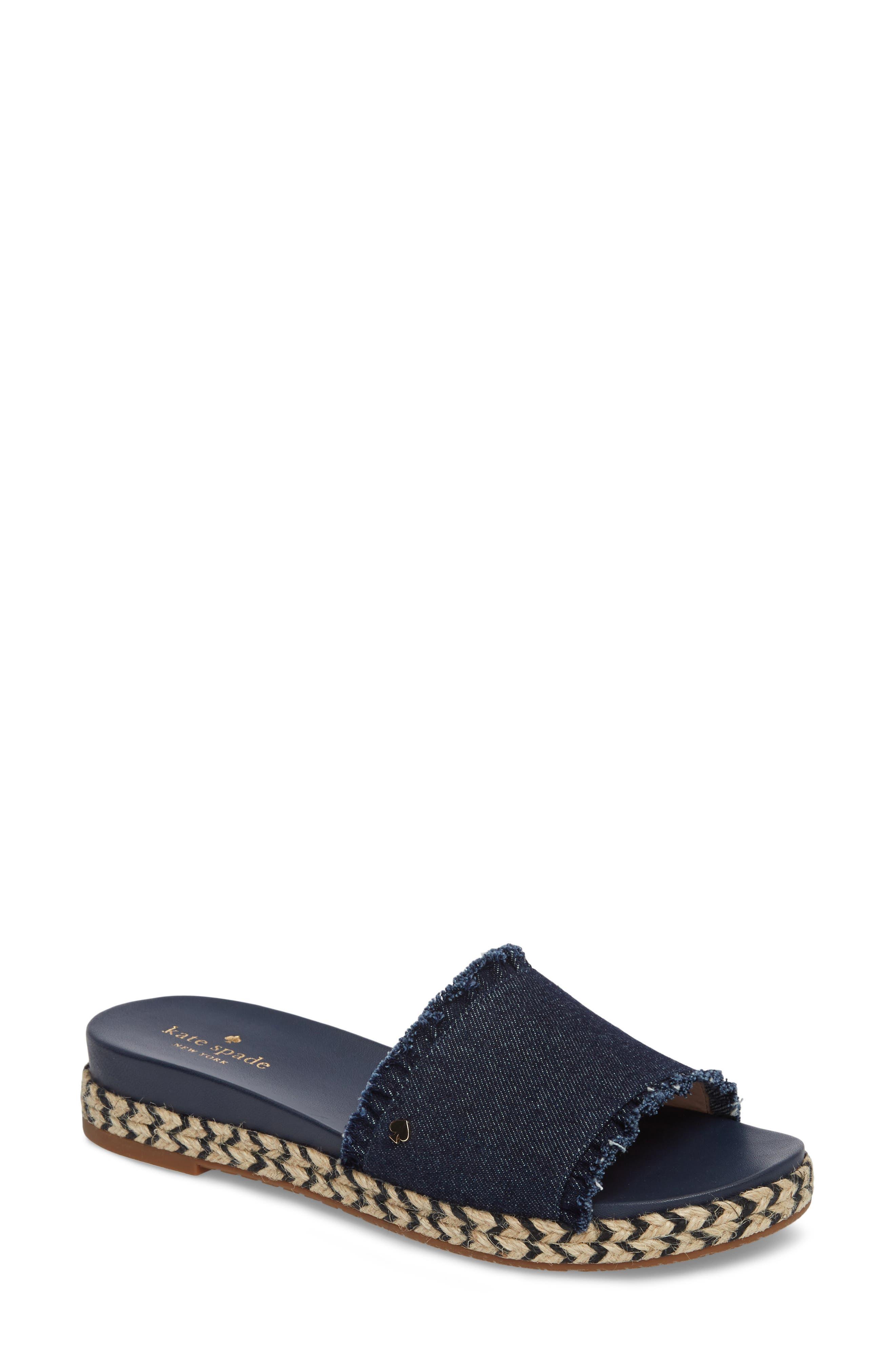 Alternate Image 1 Selected - kate spade new york zahara slide sandal (Women)