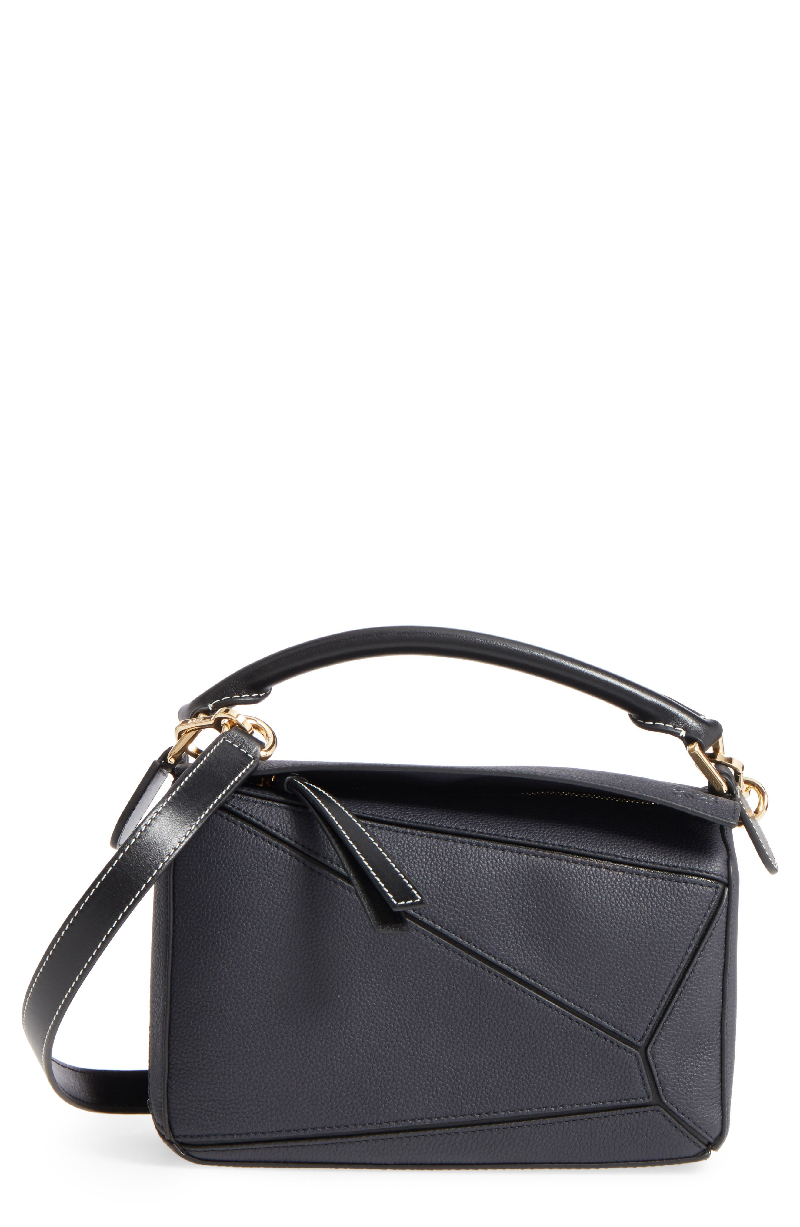 Main Image - Loewe Small Puzzle Leather Bag