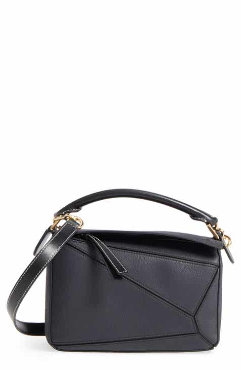 cb32cd89e6b6 Loewe Small Puzzle Leather Bag