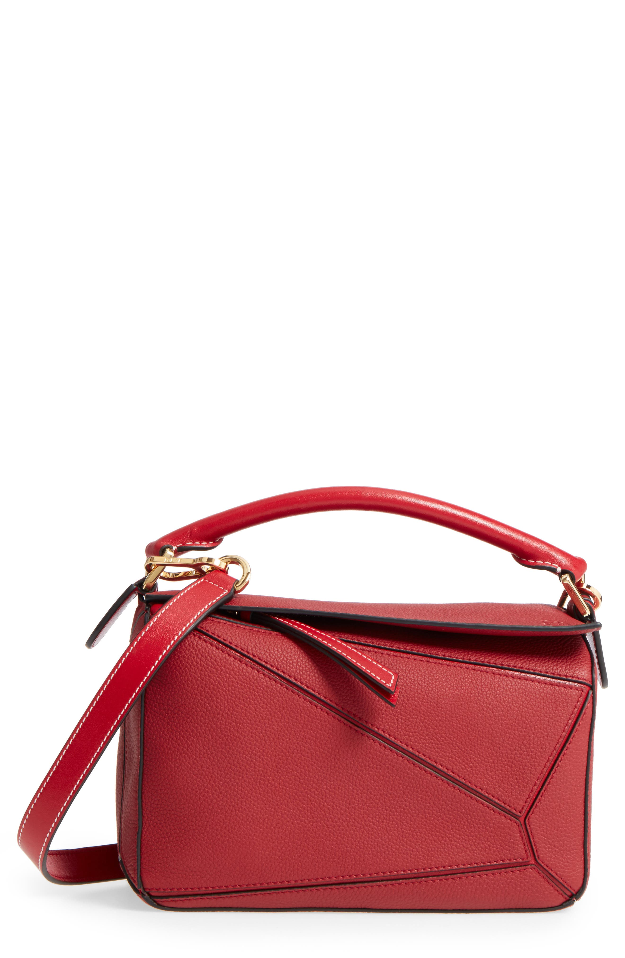 Main Image - Loewe Small Puzzle Leather Shoulder Bag