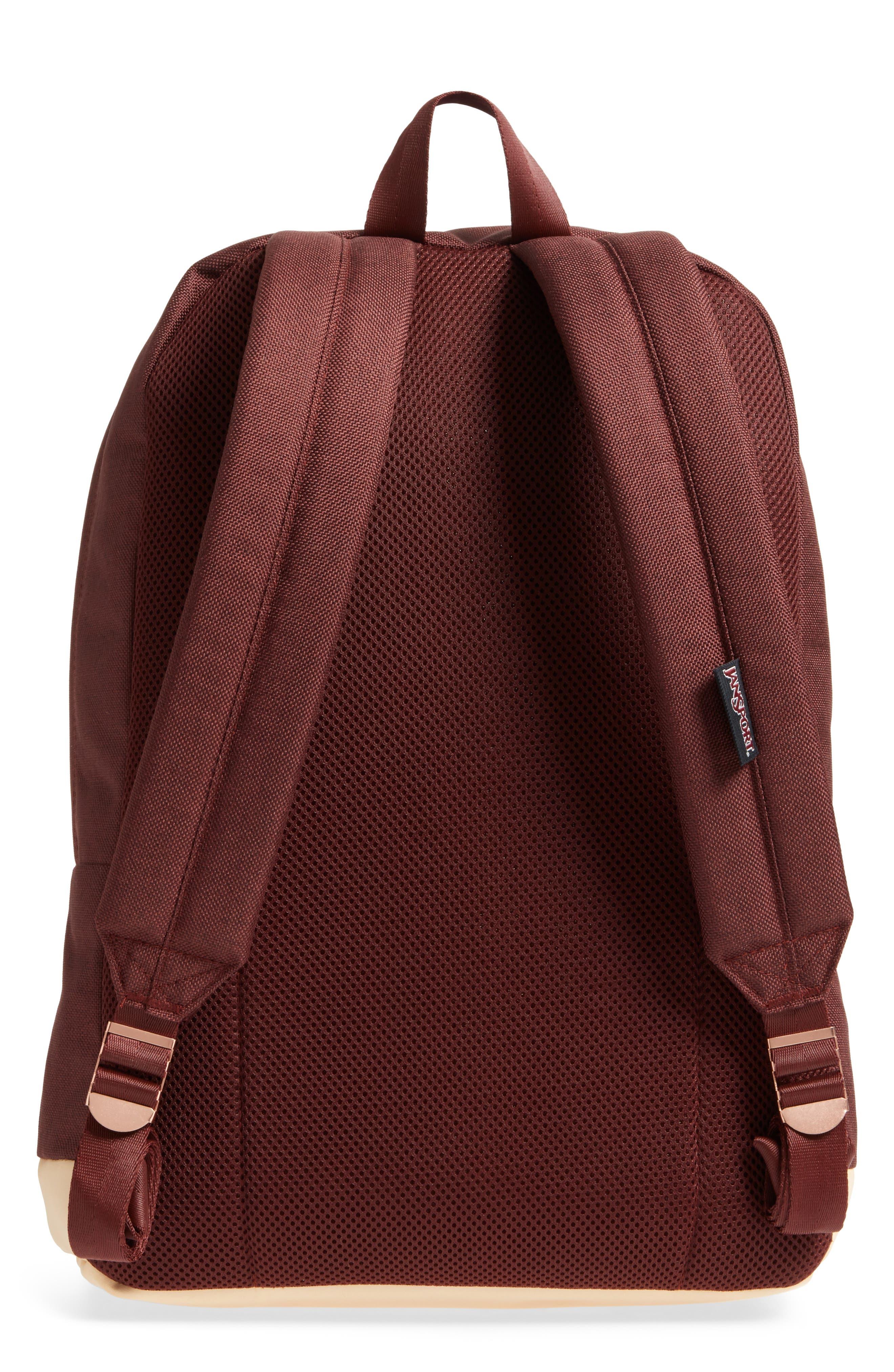 Red Rocks Axiom Backpack,                             Alternate thumbnail 3, color,                             Maroon Tweed