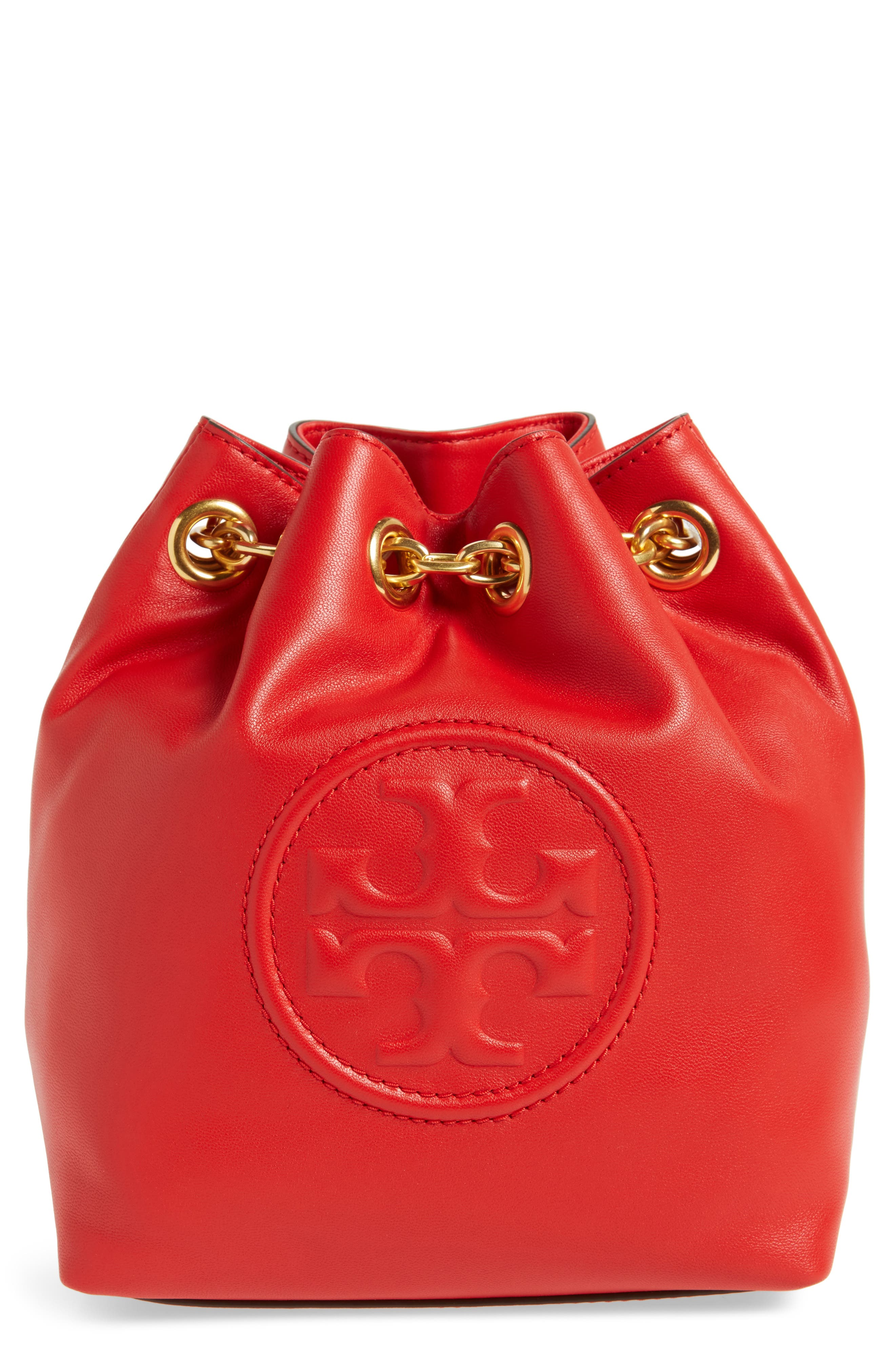 Tory Burch Mini Fleming Leather Backpack