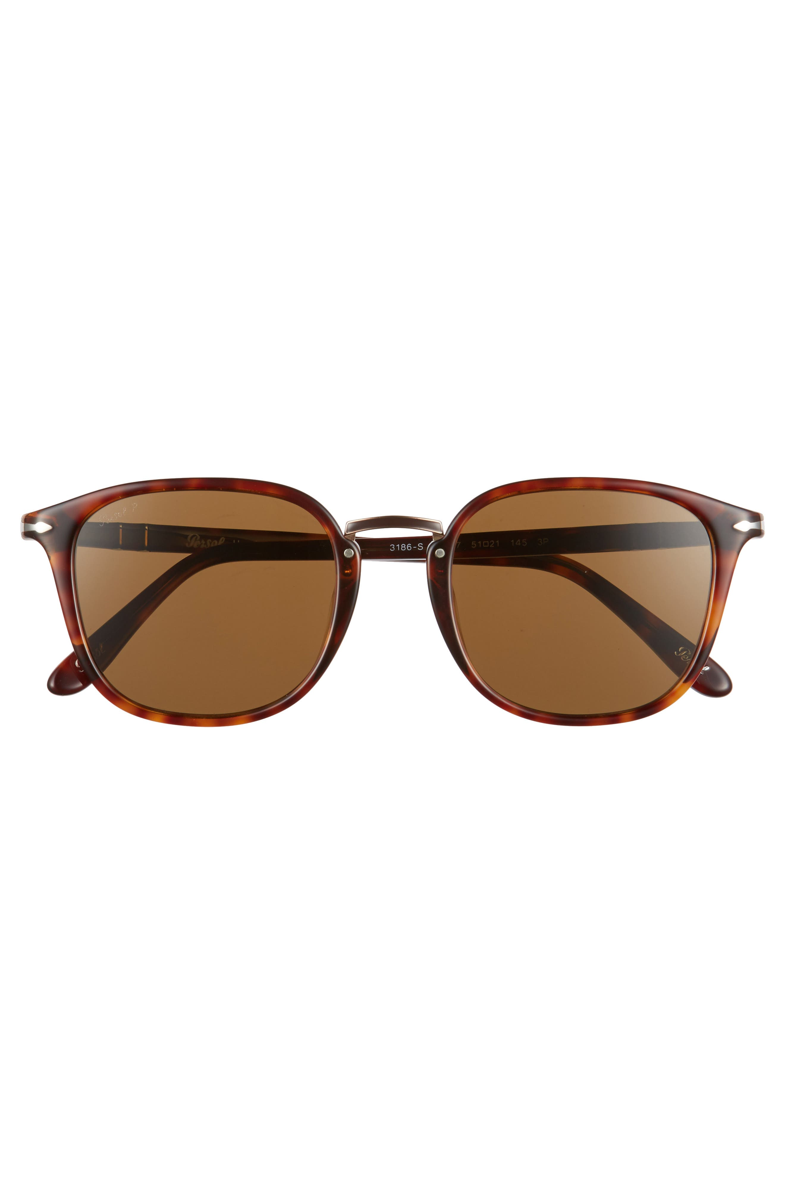 Phantos 51mm Polarized Sunglasses,                             Alternate thumbnail 2, color,                             Tortoise Polarized
