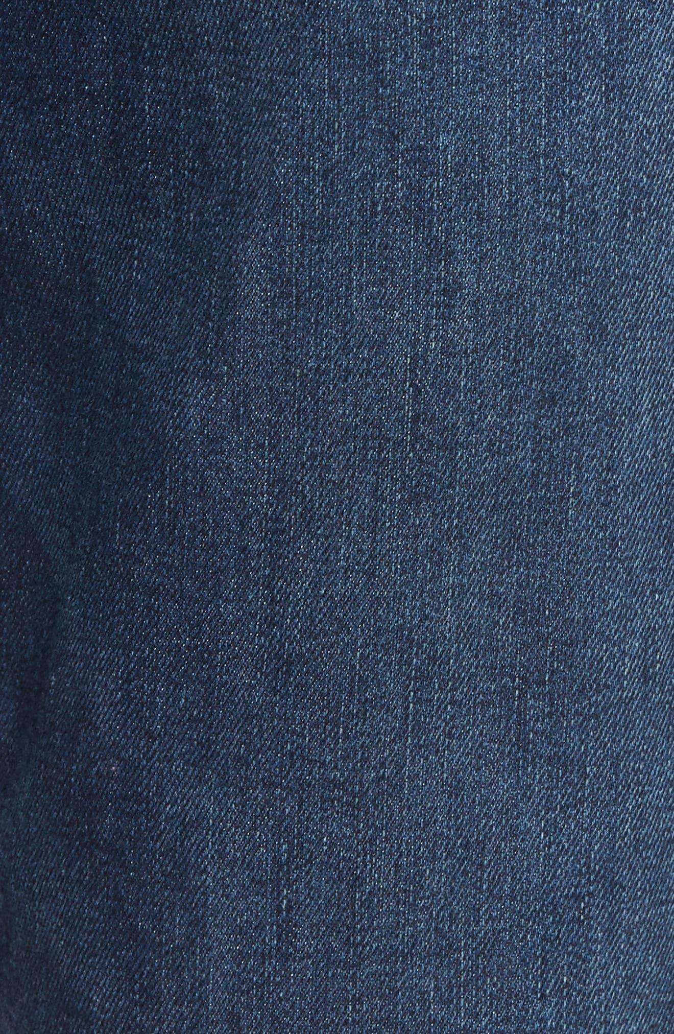 Slim Fit Jeans,                             Alternate thumbnail 5, color,                             Yates