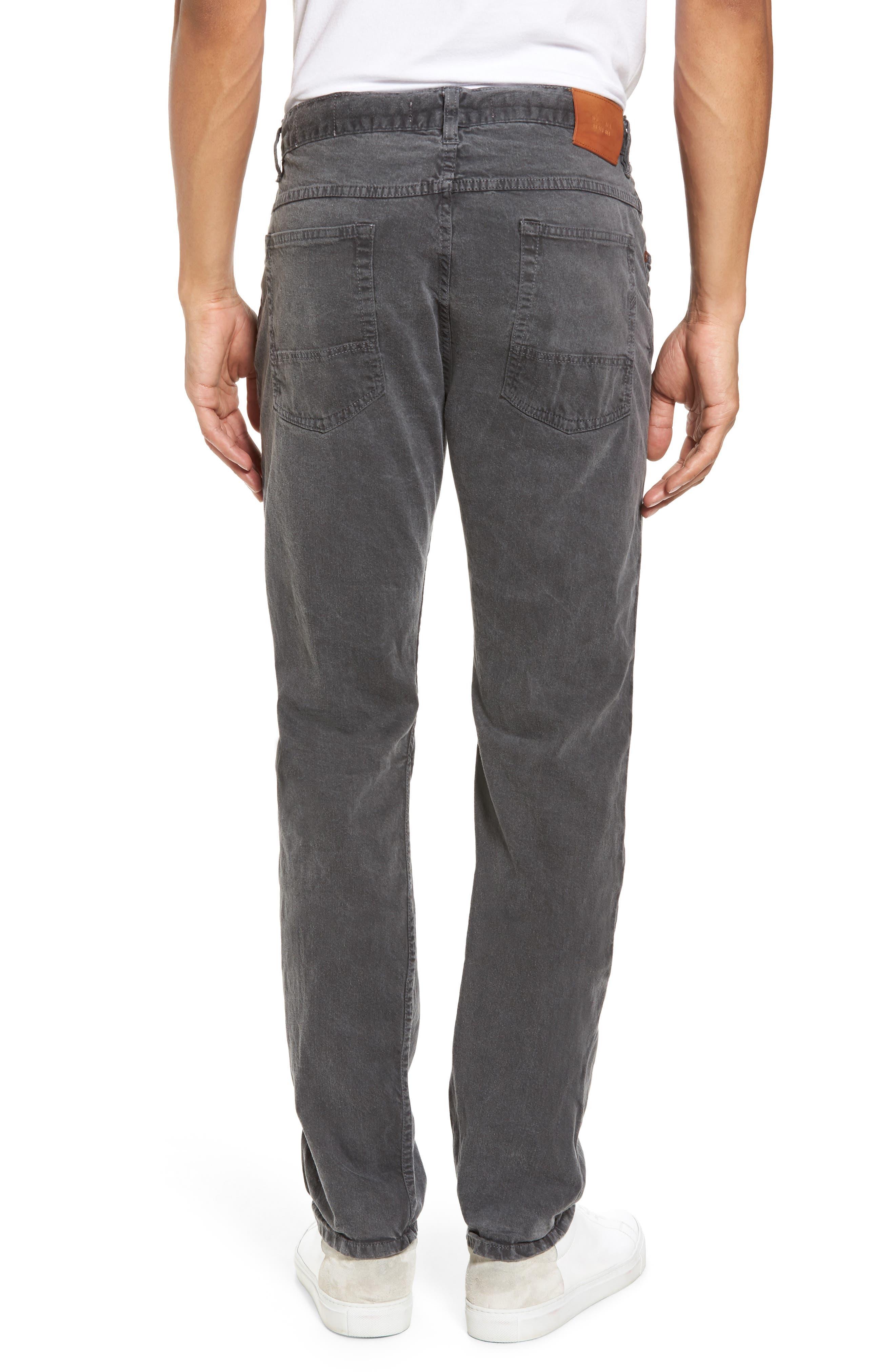 Alternate Image 2  - Billy Reid Slim Fit Selvedge Jeans