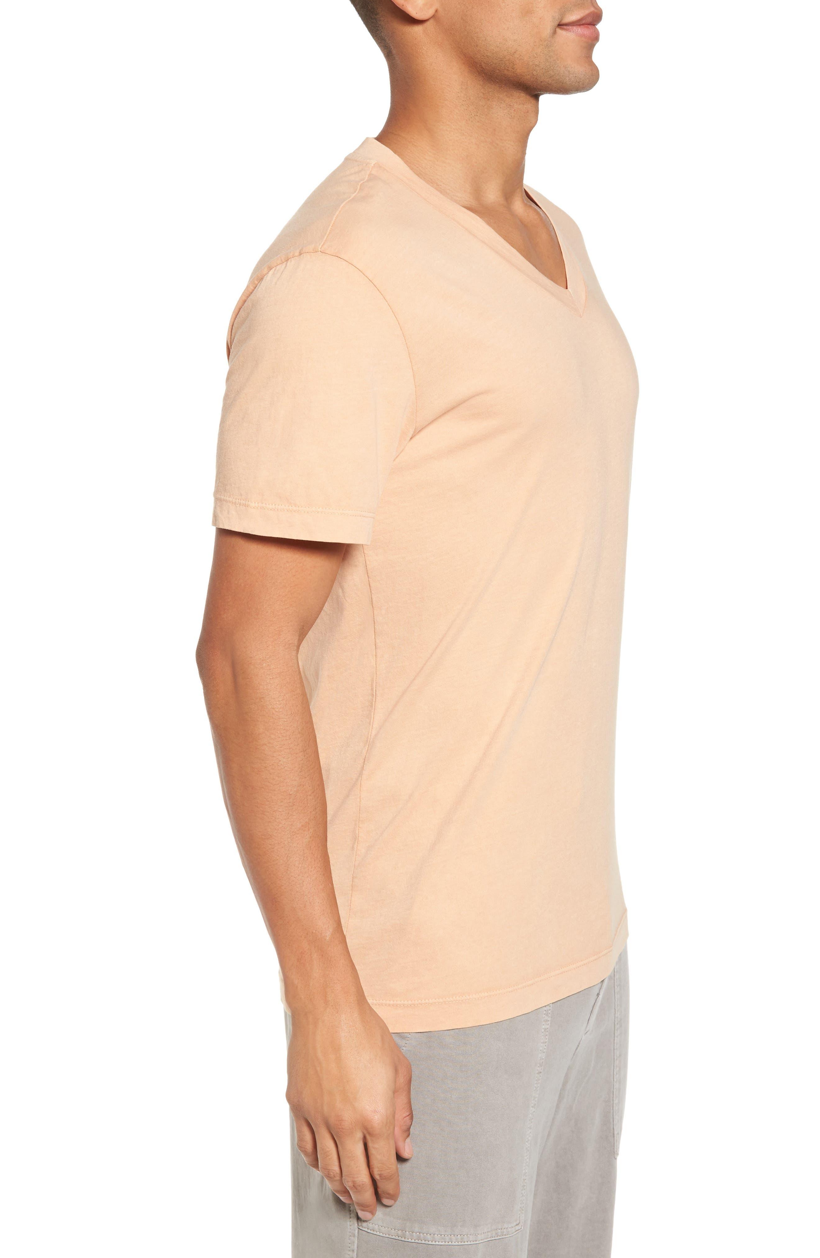 Alternate Image 3  - James Perse Short Sleeve V-Neck T-Shirt