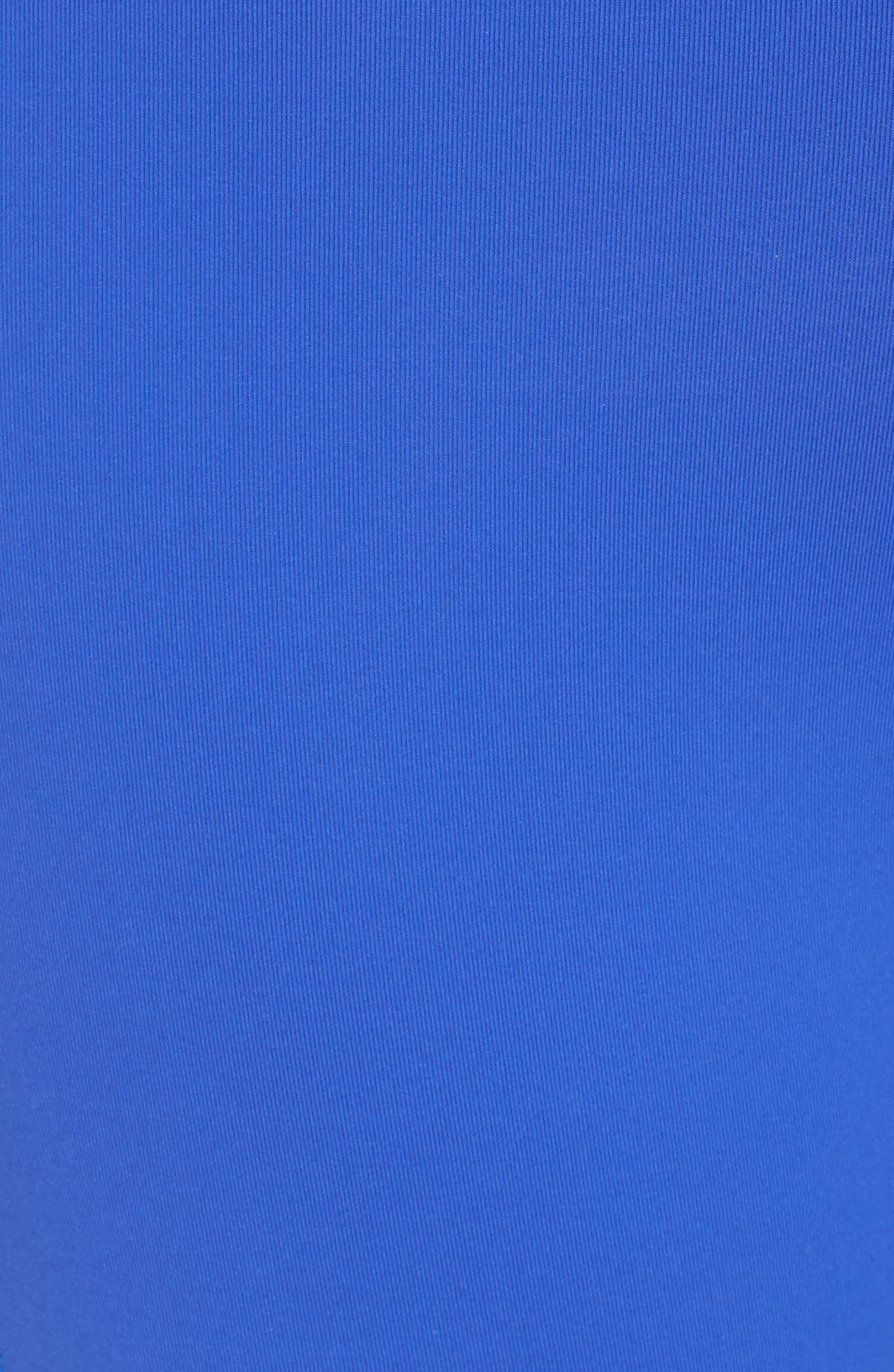 High Waist Mesh Tights,                             Alternate thumbnail 7, color,                             Acid Blue