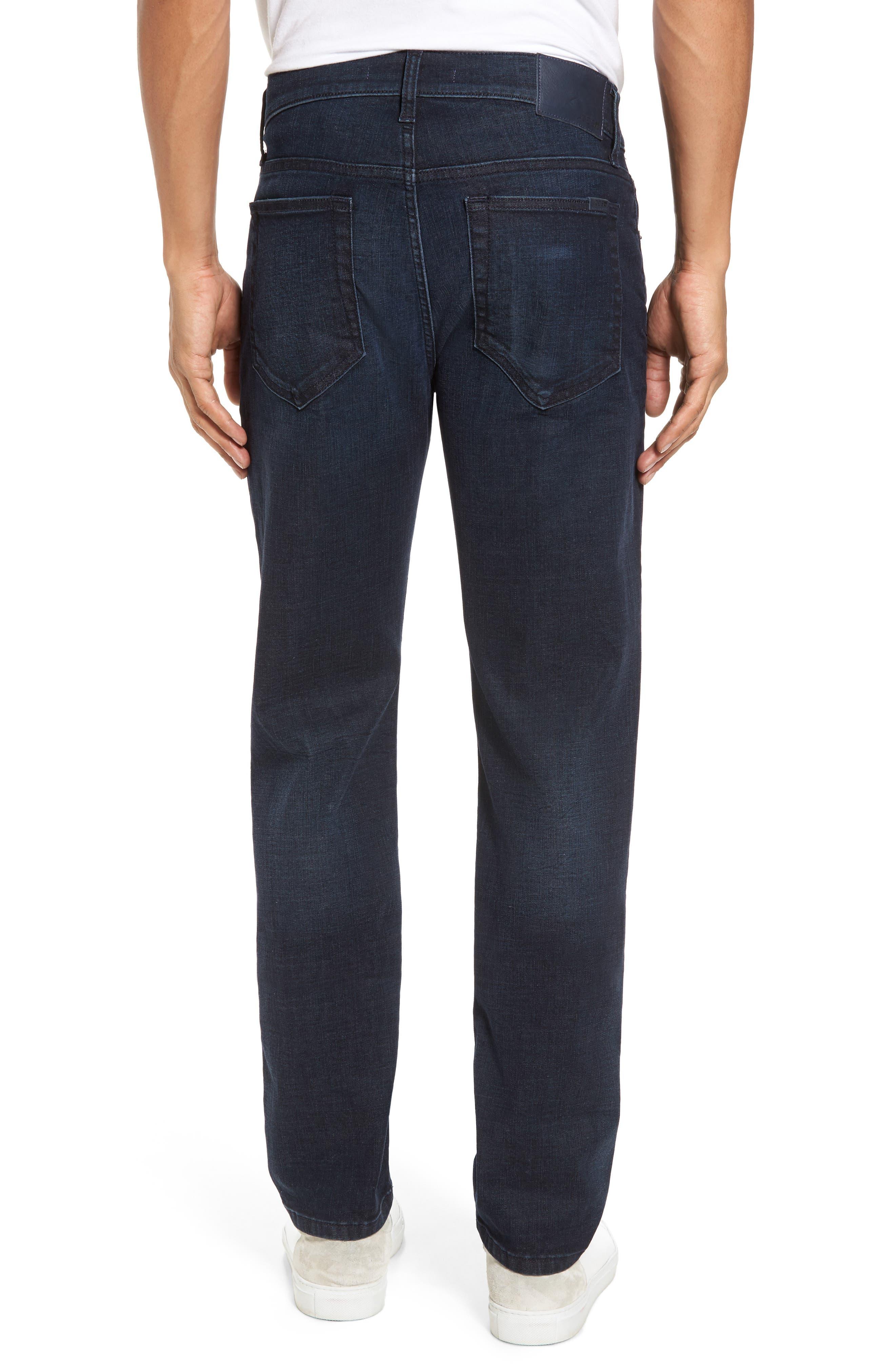 Brixton Slim Straight Leg Jeans,                             Alternate thumbnail 2, color,                             Larsen