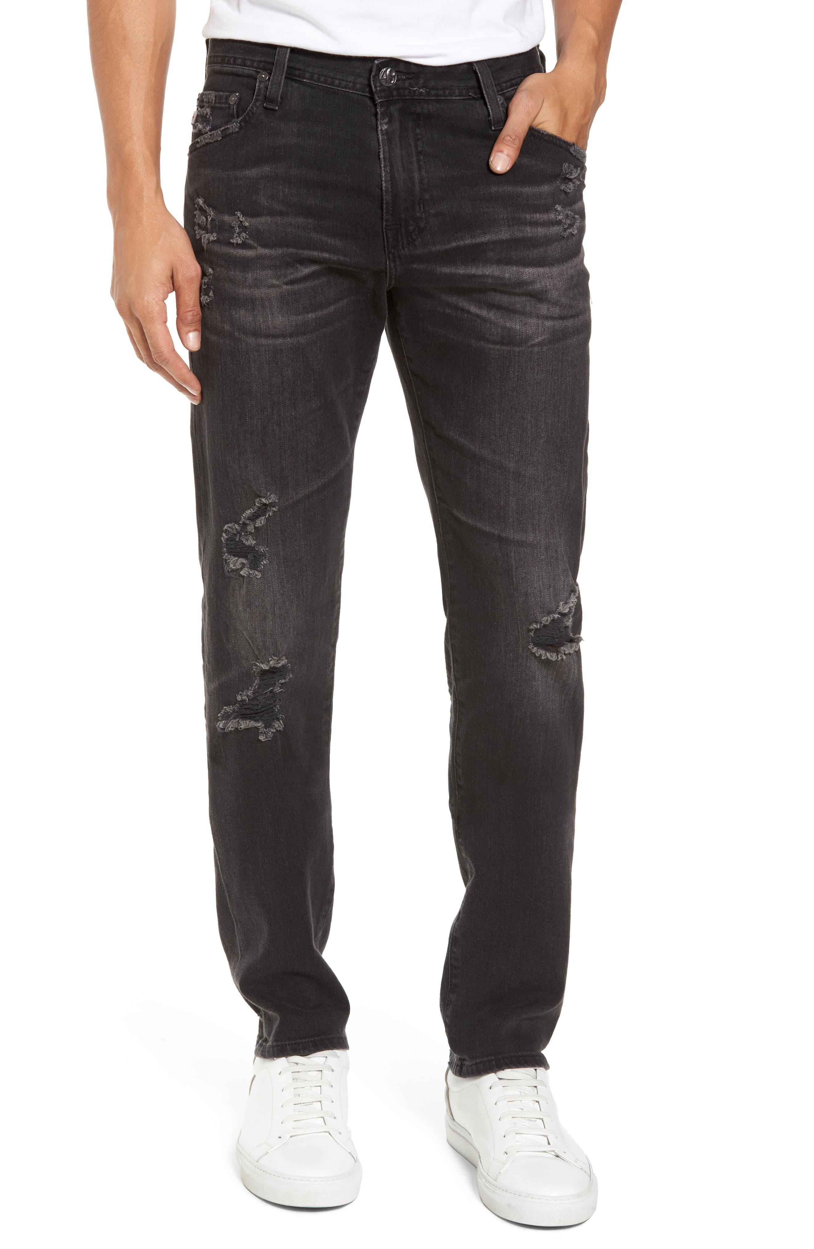 AG Tellis Slim Fit Jeans (8 Years Gravel)