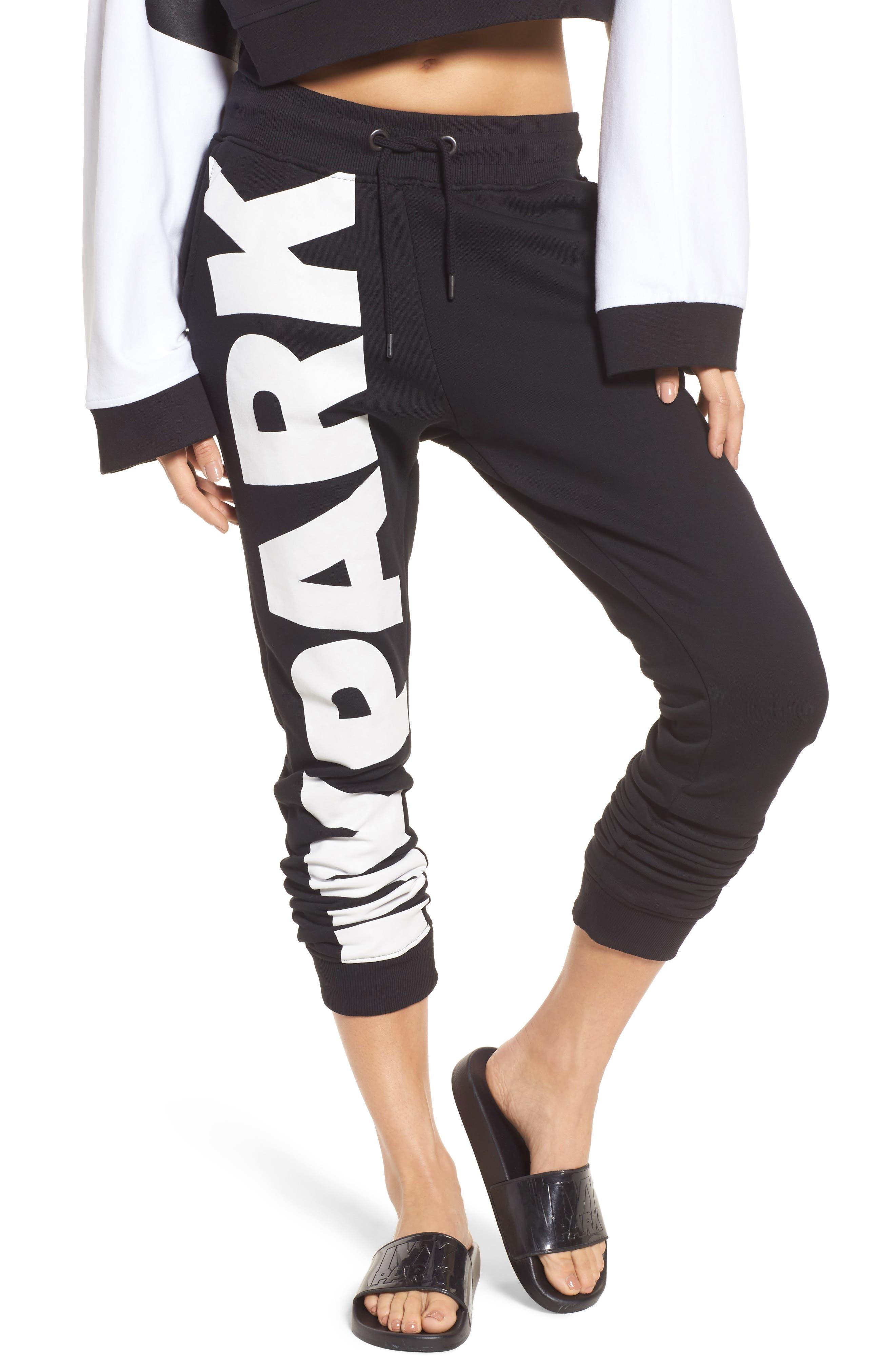 Alternate Image 1 Selected - IVY PARK® Big Logo Jogger Pants