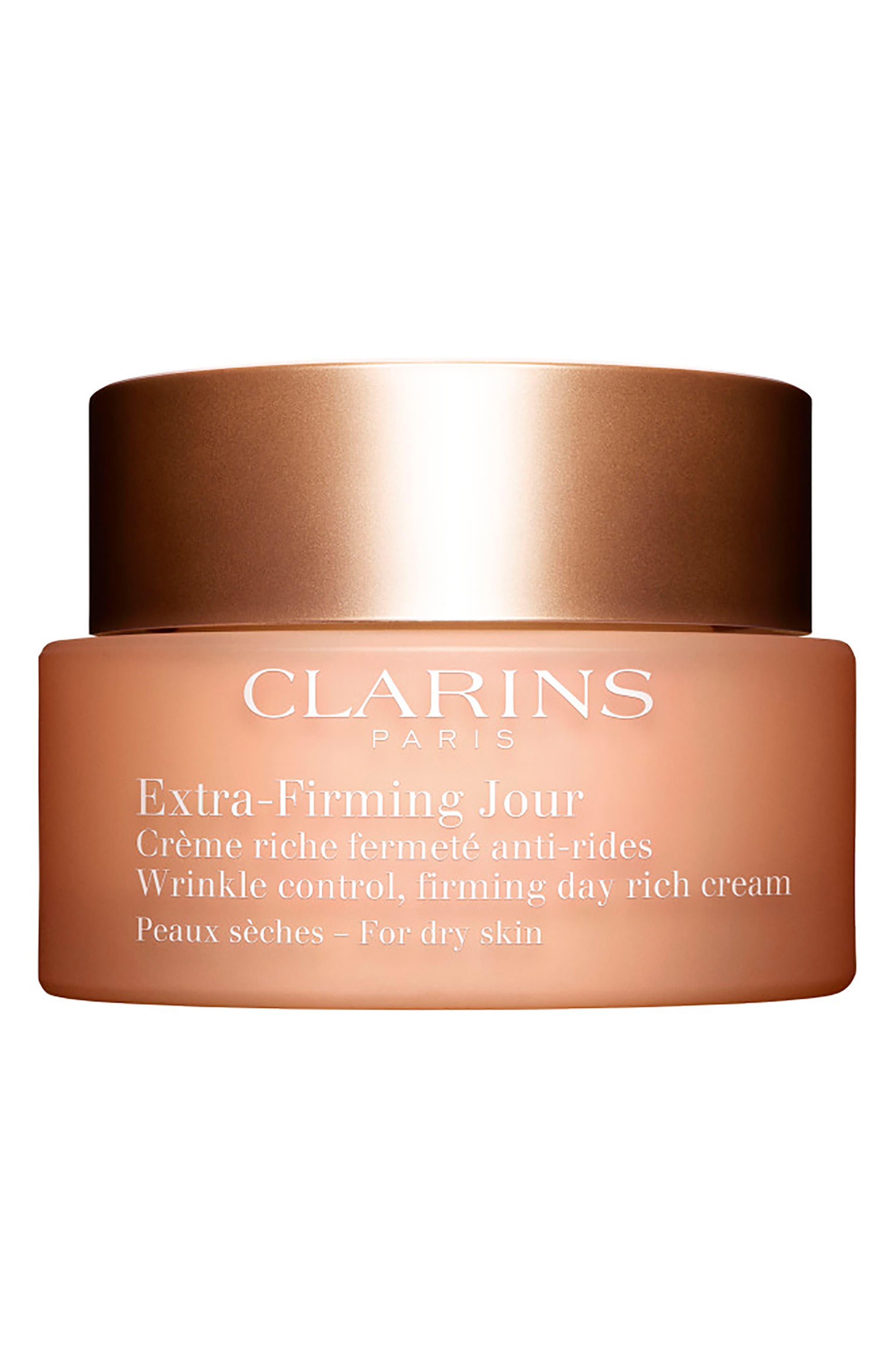 Extra-Firming Wrinkle Control Firming Day Cream for Dry Skin,                         Main,                         color, No Color