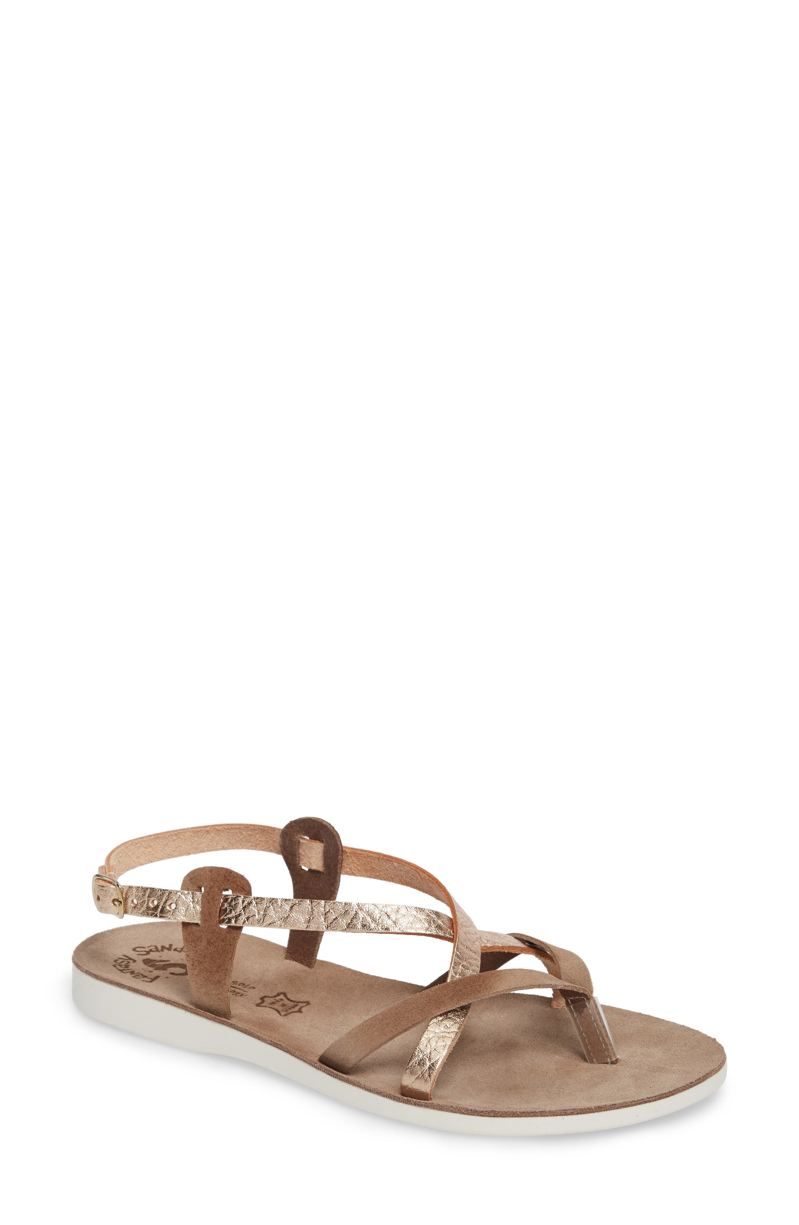 Anelia Fantasy Sandal,                         Main,                         color, Coffee Volcano Leather