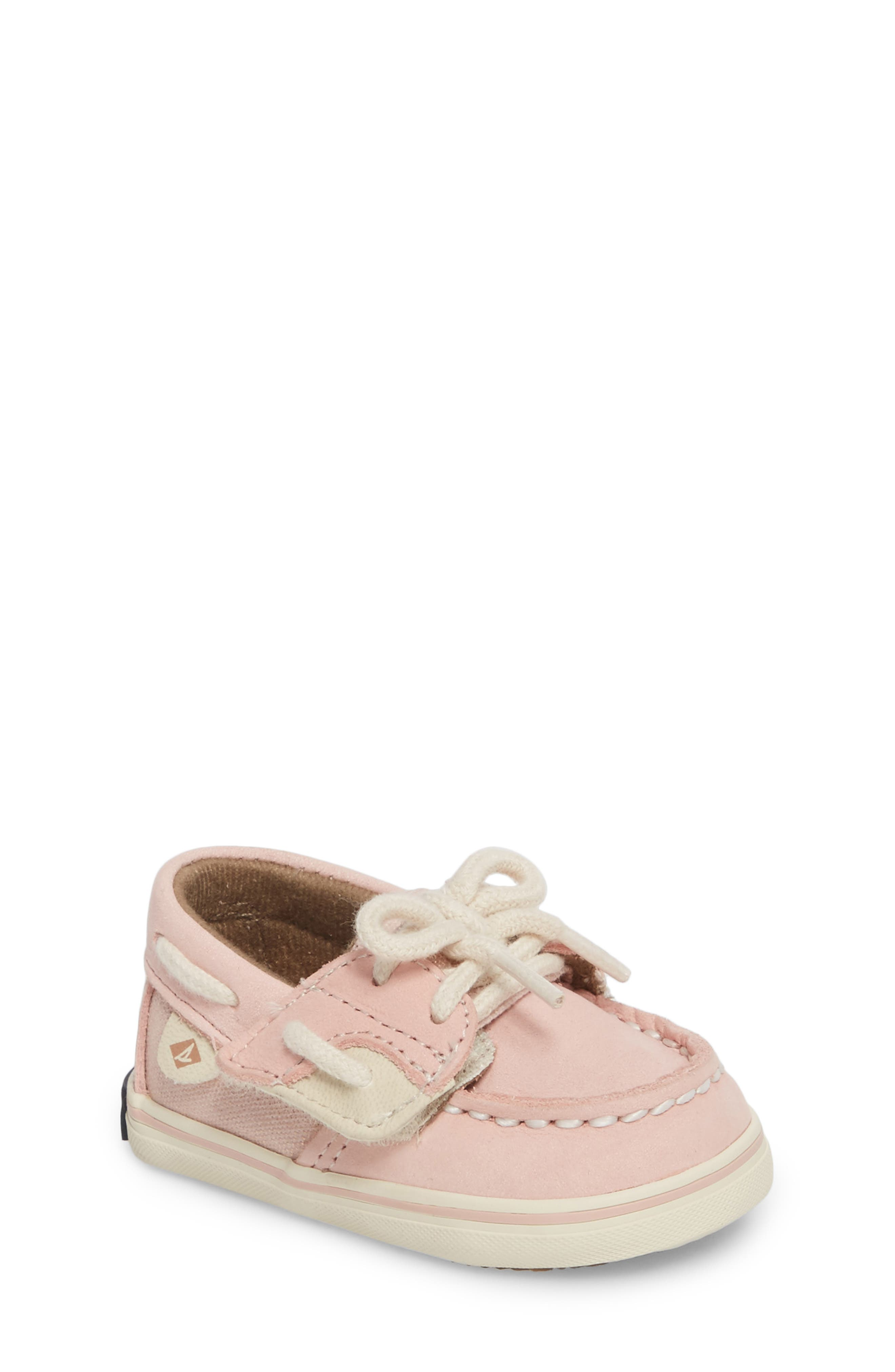 Sperry Bluefish Crib Jr. Boat Shoe (Baby)