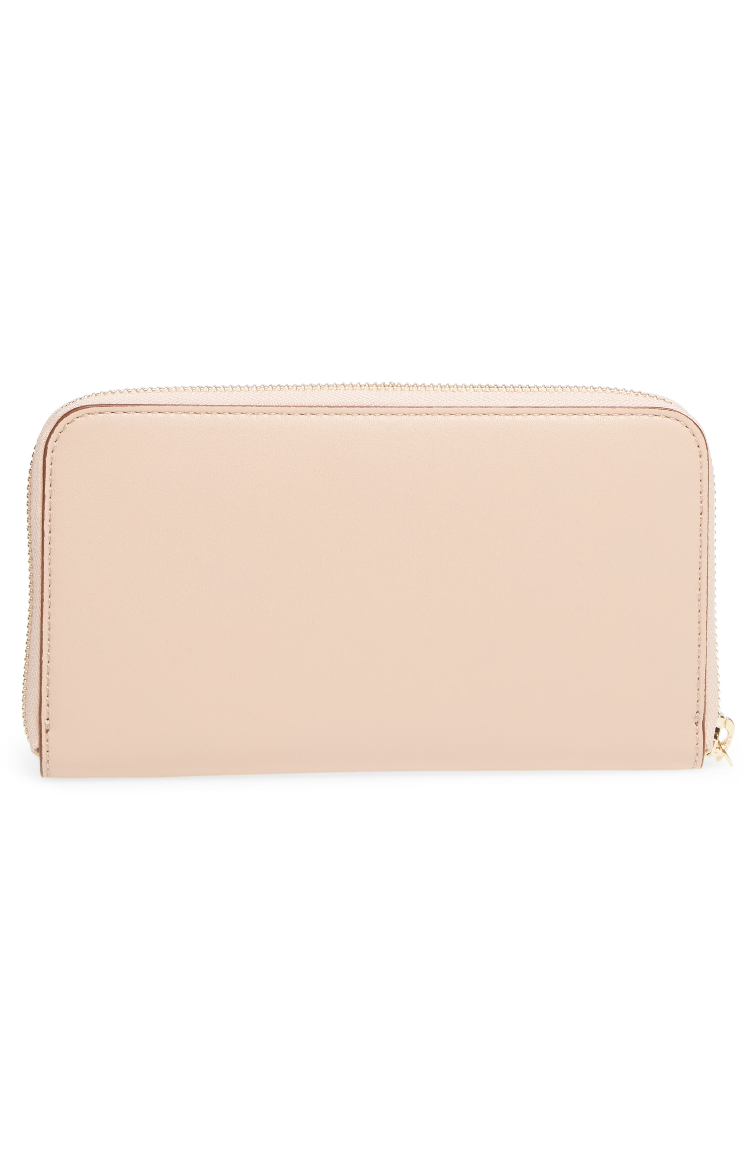 Alternate Image 4  - Stella McCartney Alter Nappa Perforated Logo Faux Leather Wallet