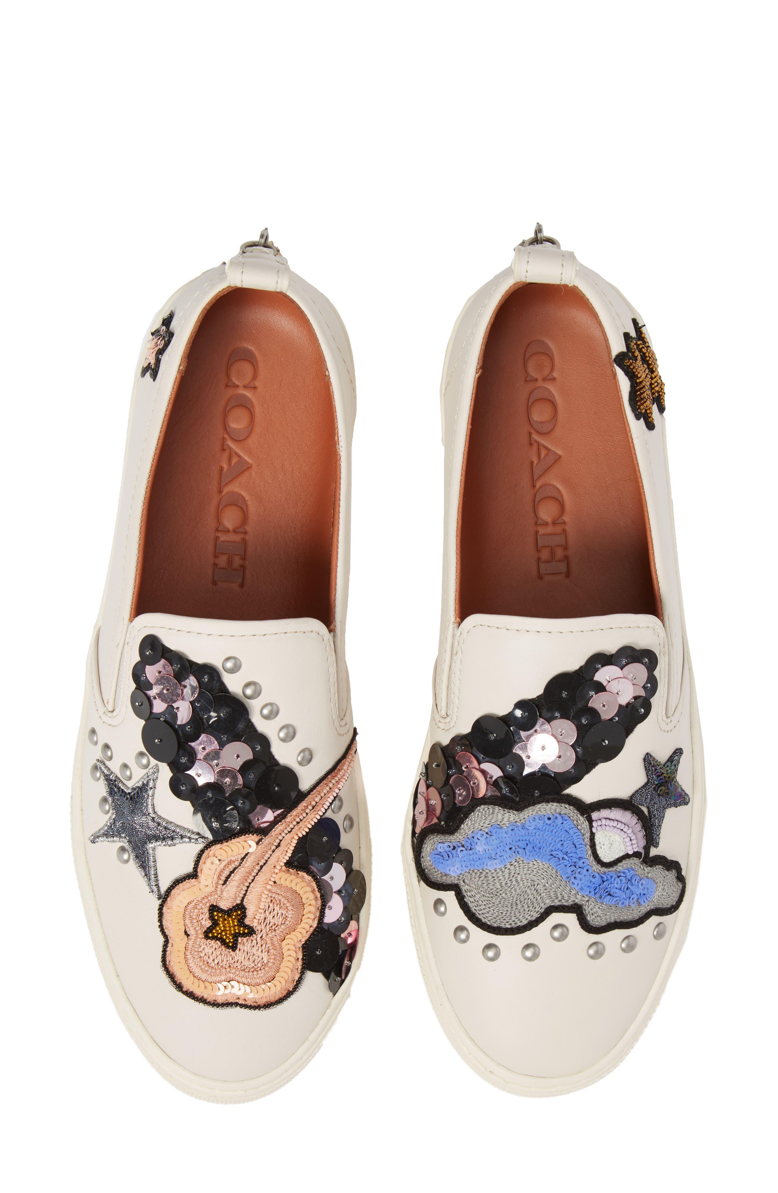 COACH Star Patch Slip-On Sneaker (Women)