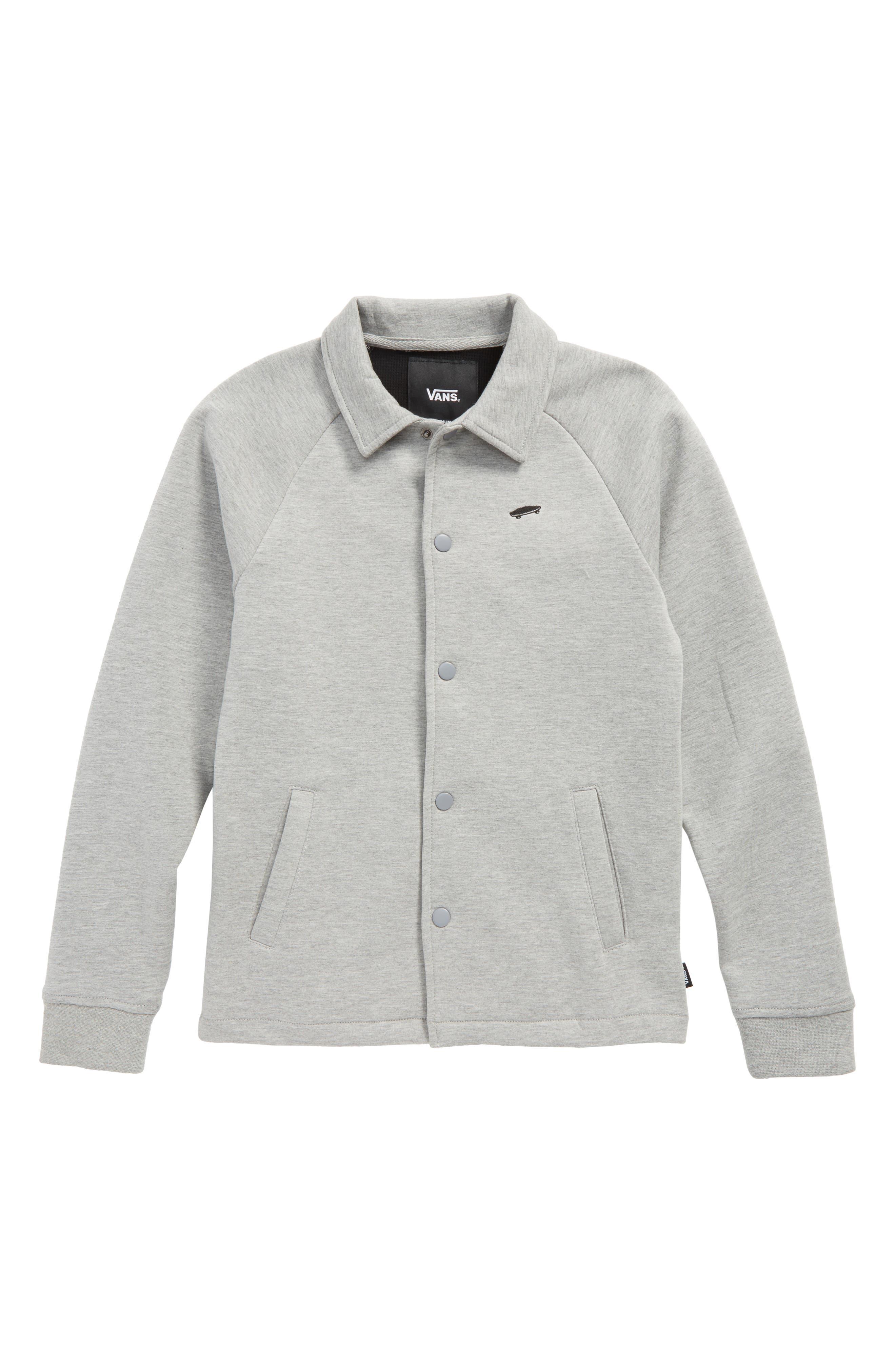 Torrey Fleece Jacket,                         Main,                         color, Cement Heather