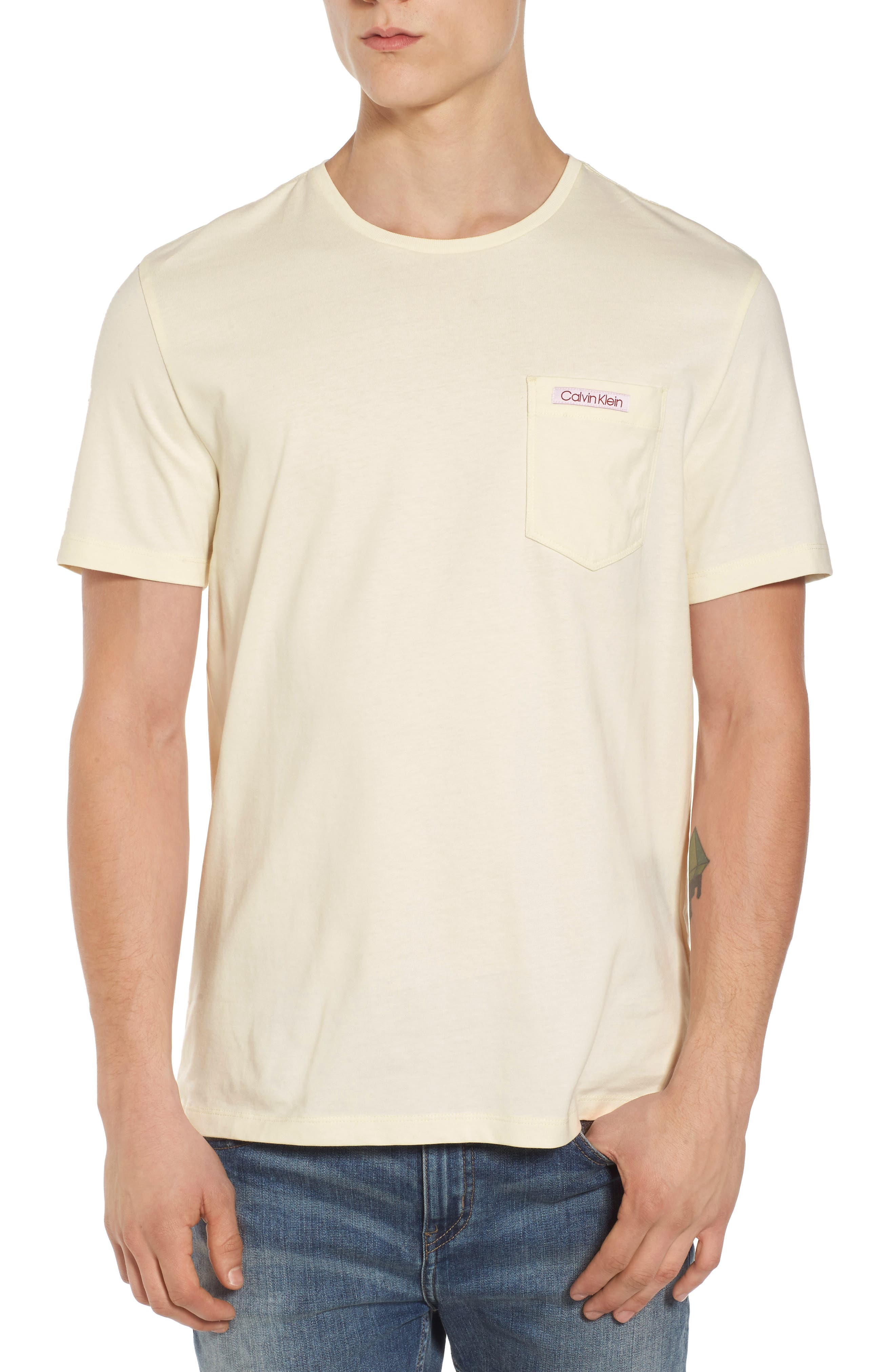 Calvin Klein Jeans Label Pocket T-Shirt