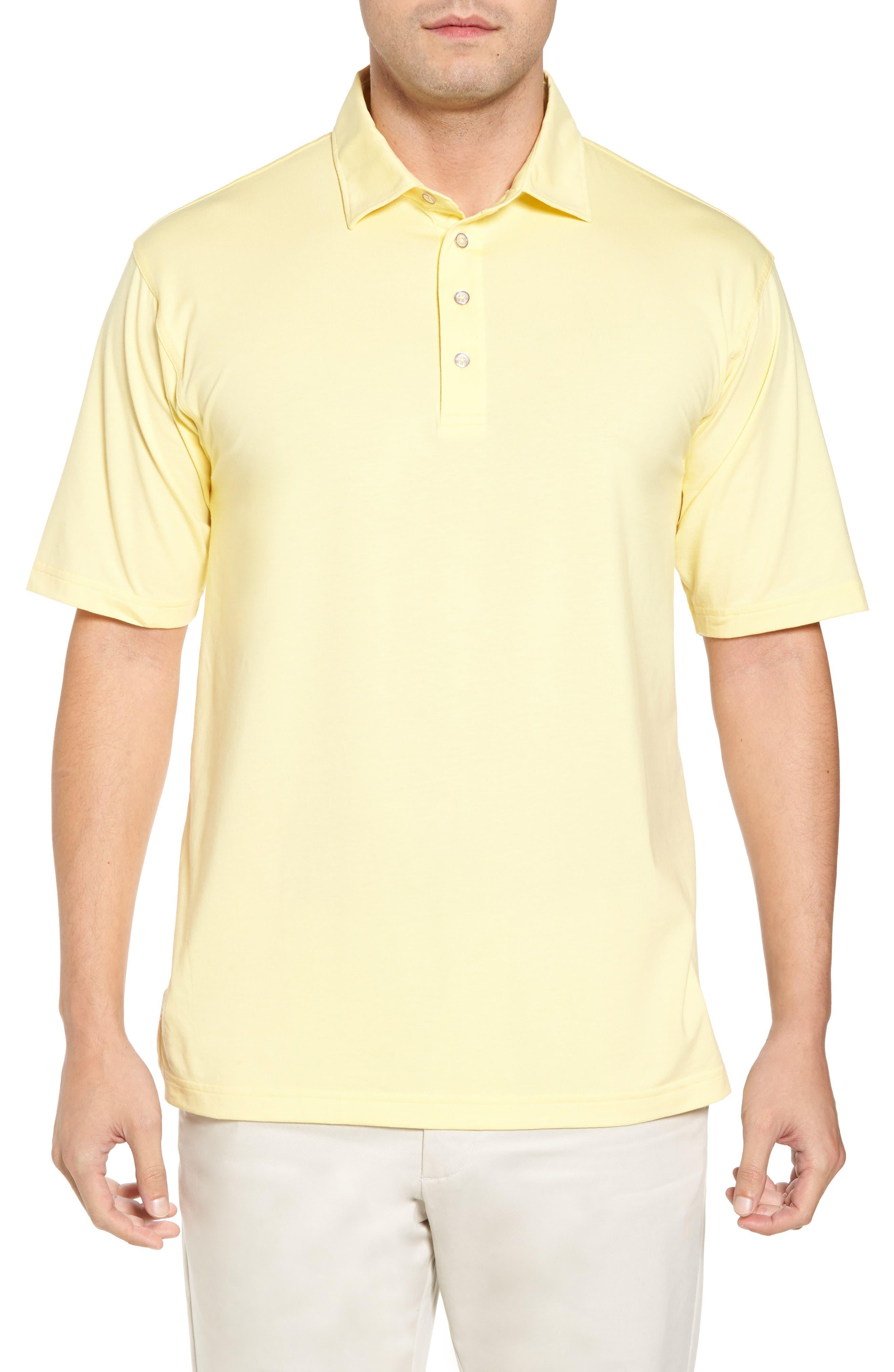 Bobby Jones Liquid Cotton Stretch Jersey Polo