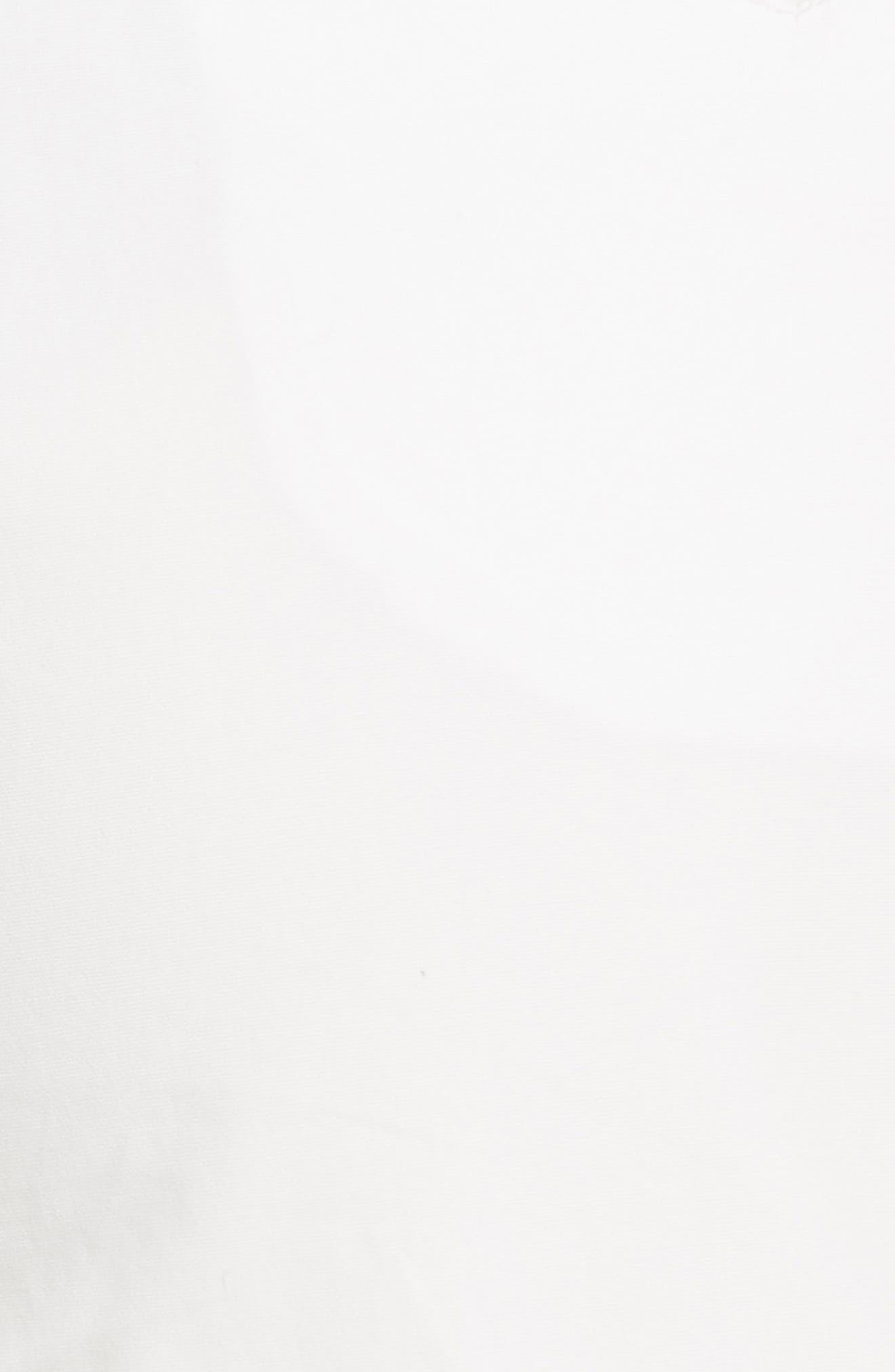 High Waist Shorts,                             Alternate thumbnail 5, color,                             Blanc Antique