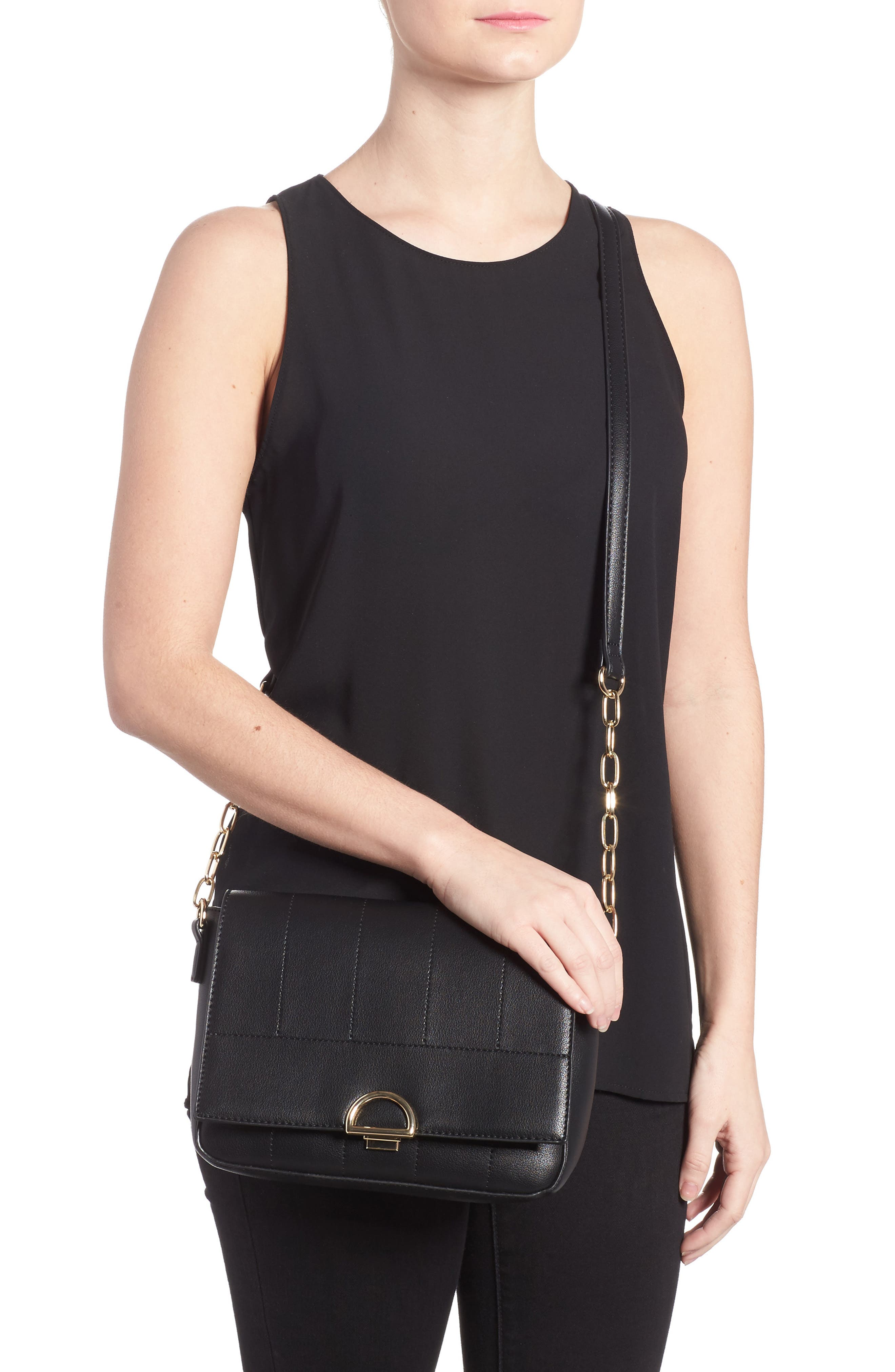 Alternate Image 2  - Sole Society Colie Faux Leather Crossbody Bag