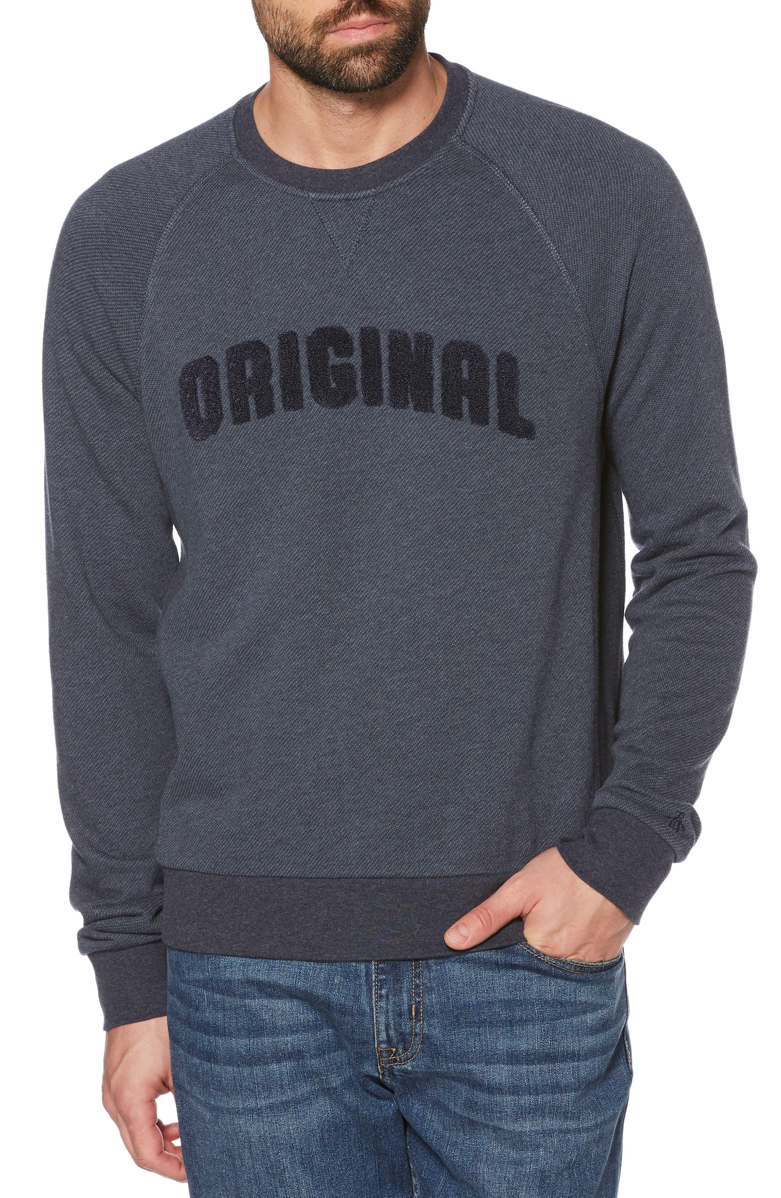 Main Image - Original Penguin Bouclé Sweatshirt