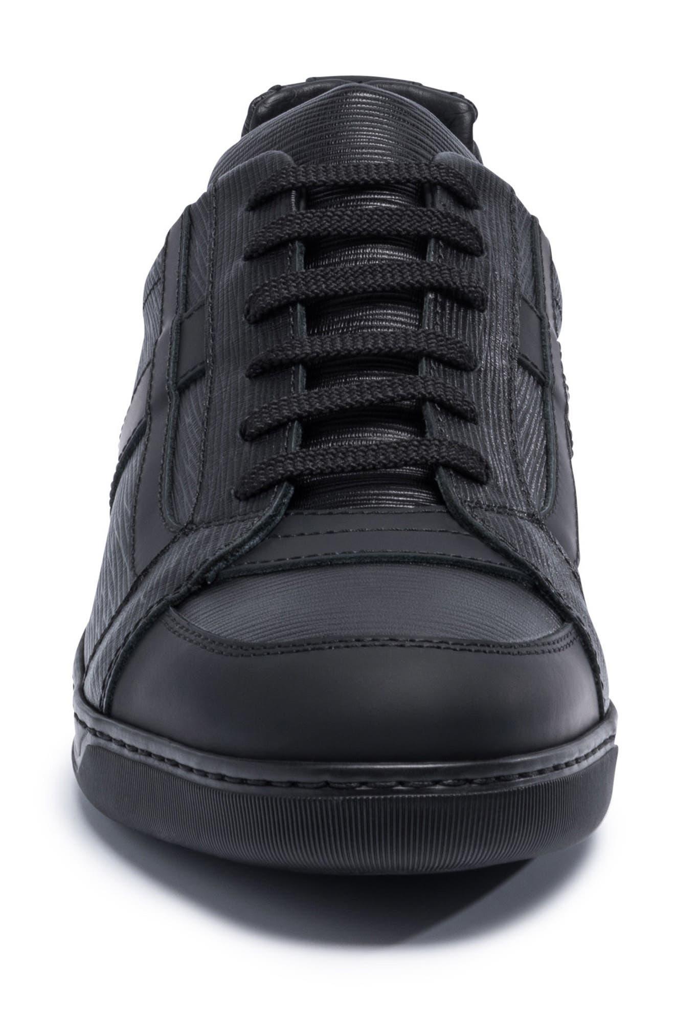 Novecento Sneaker,                             Alternate thumbnail 5, color,                             Navy Leather