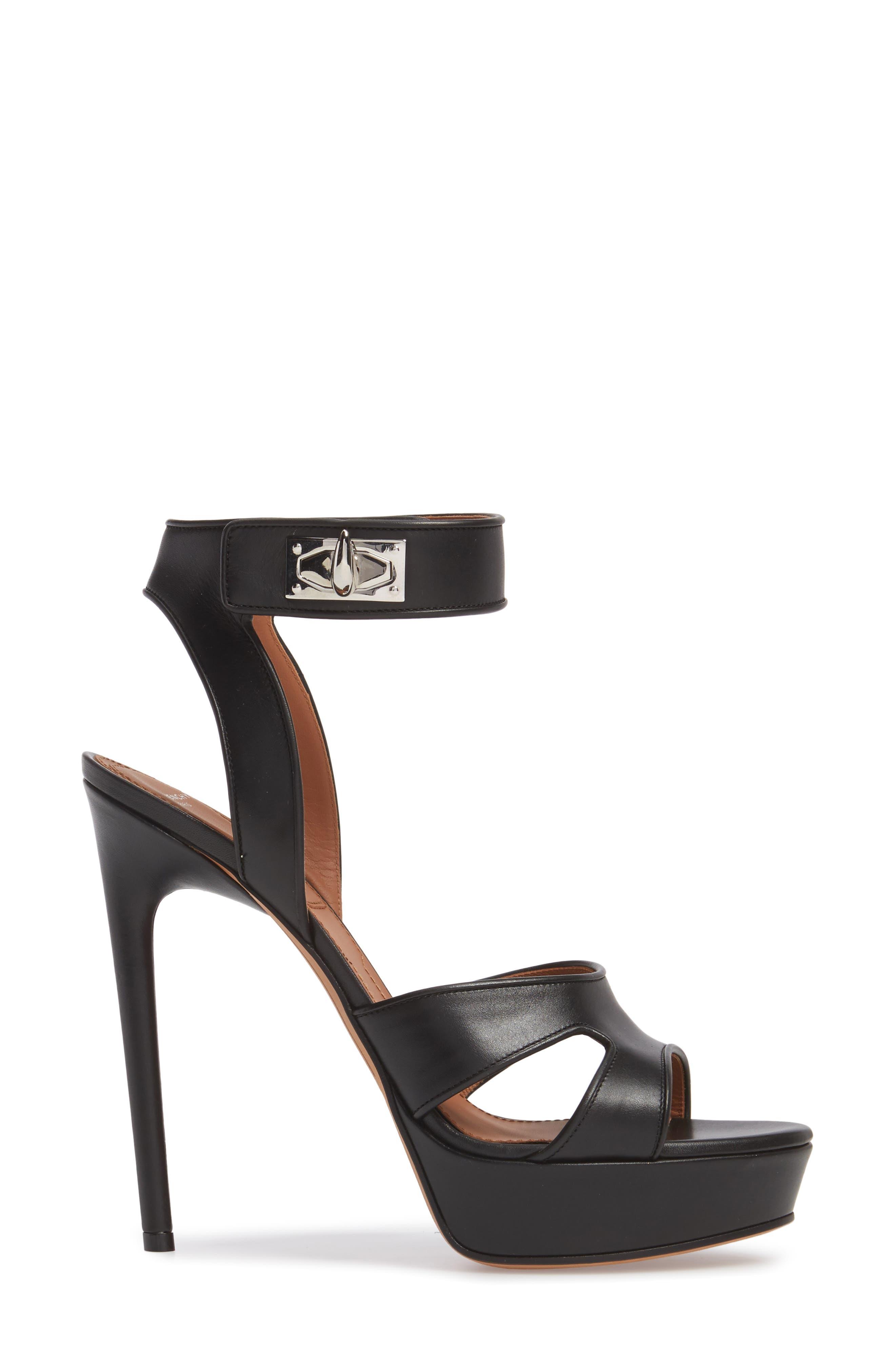 Alternate Image 3  - Givenchy Shark Tooth Platform Sandal (Women)