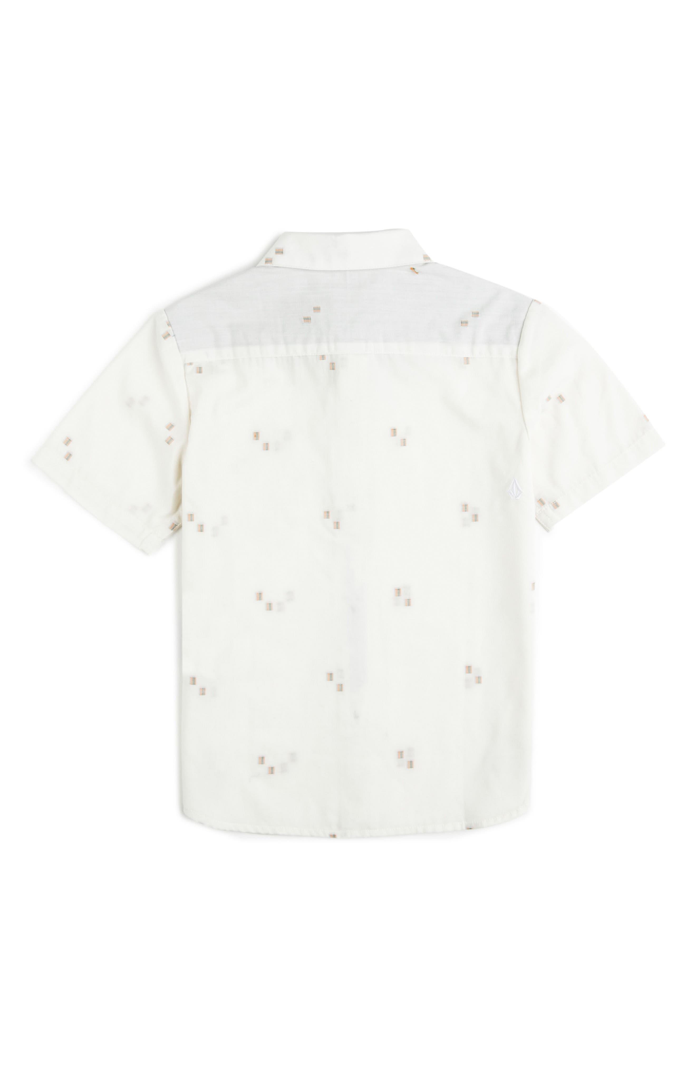 Alternate Image 2  - Volcom Floyd Woven Shirt (Toddler Boys & Little Boys)