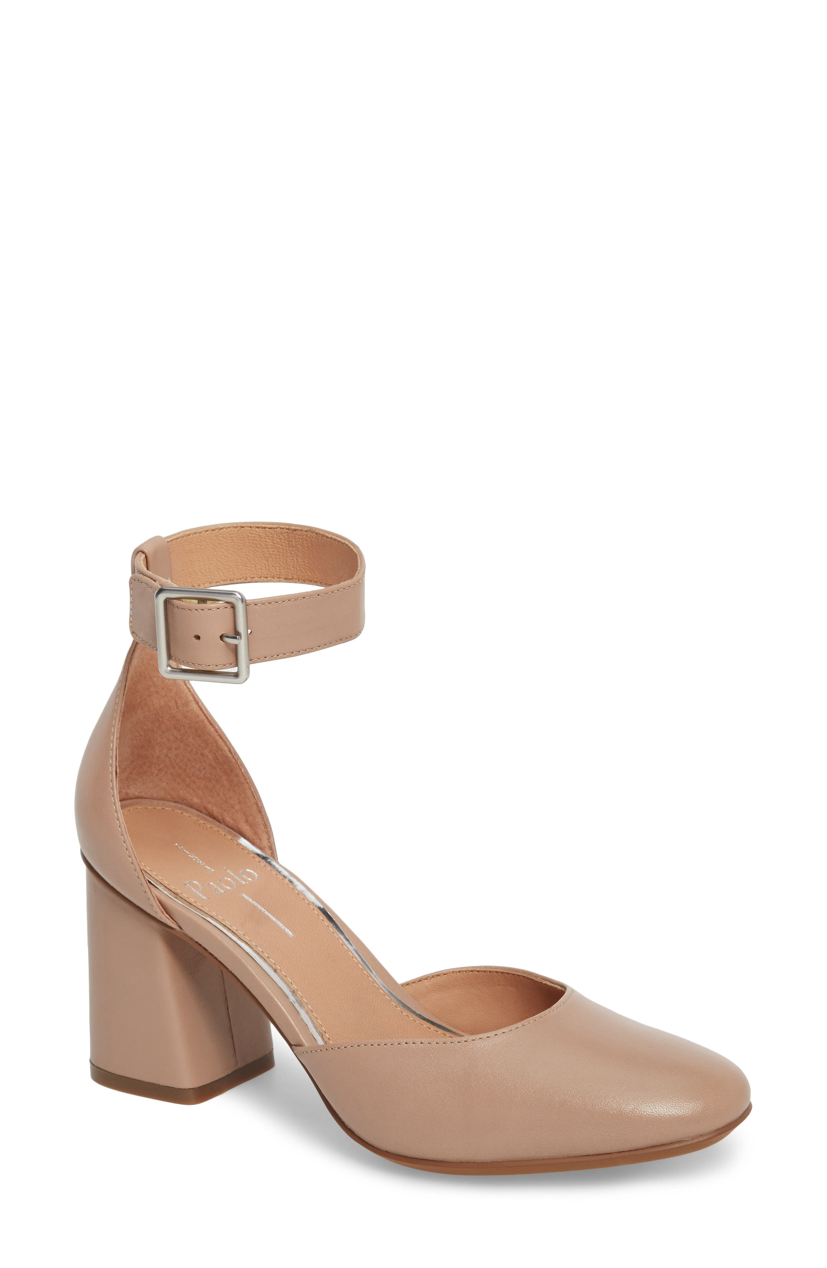 Alternate Image 1 Selected - Linea Paolo Maya Ankle Strap Pump (Women)