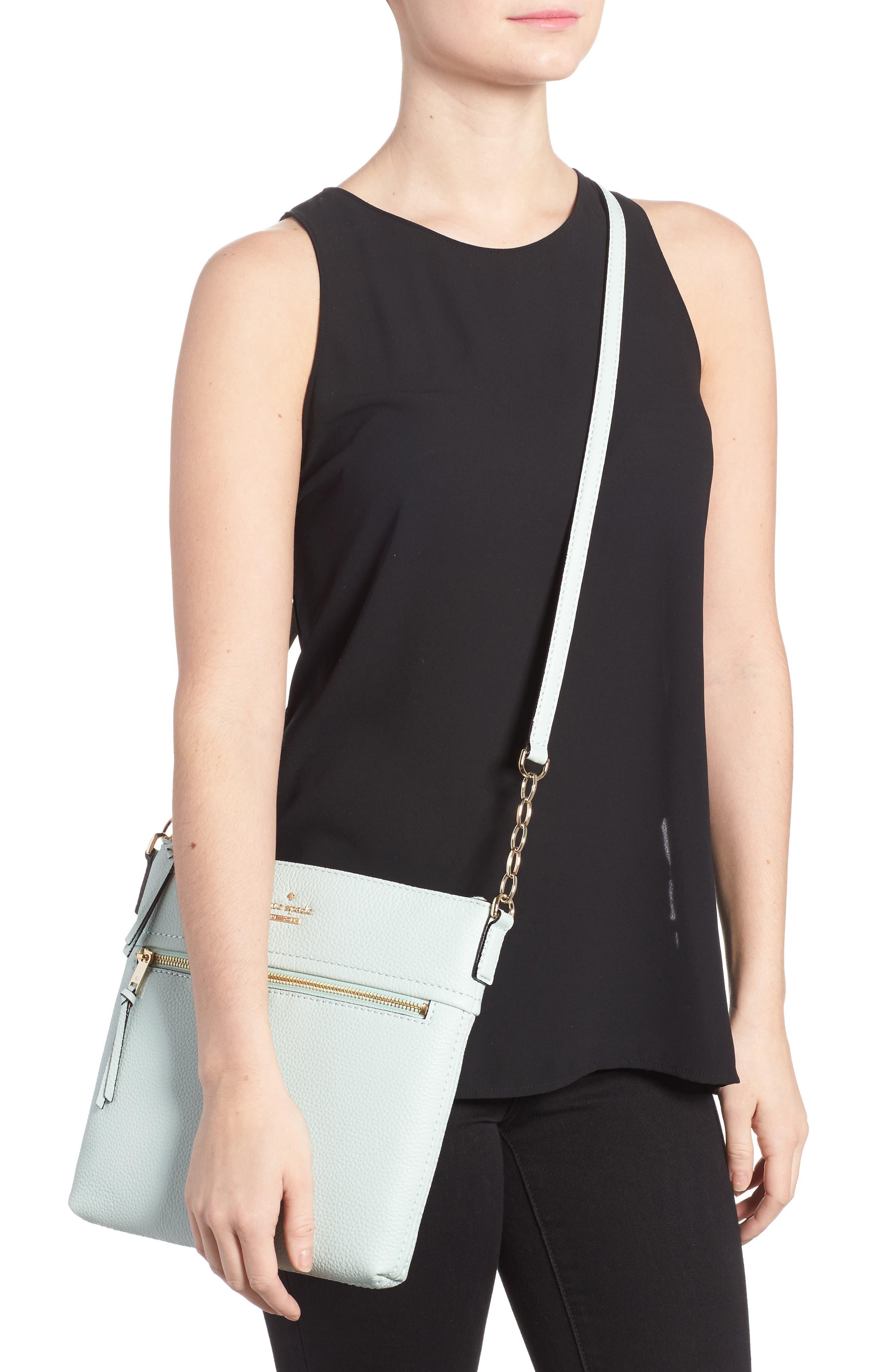 jackson street - melisse crossbody bag,                             Alternate thumbnail 2, color,                             Misty Mint