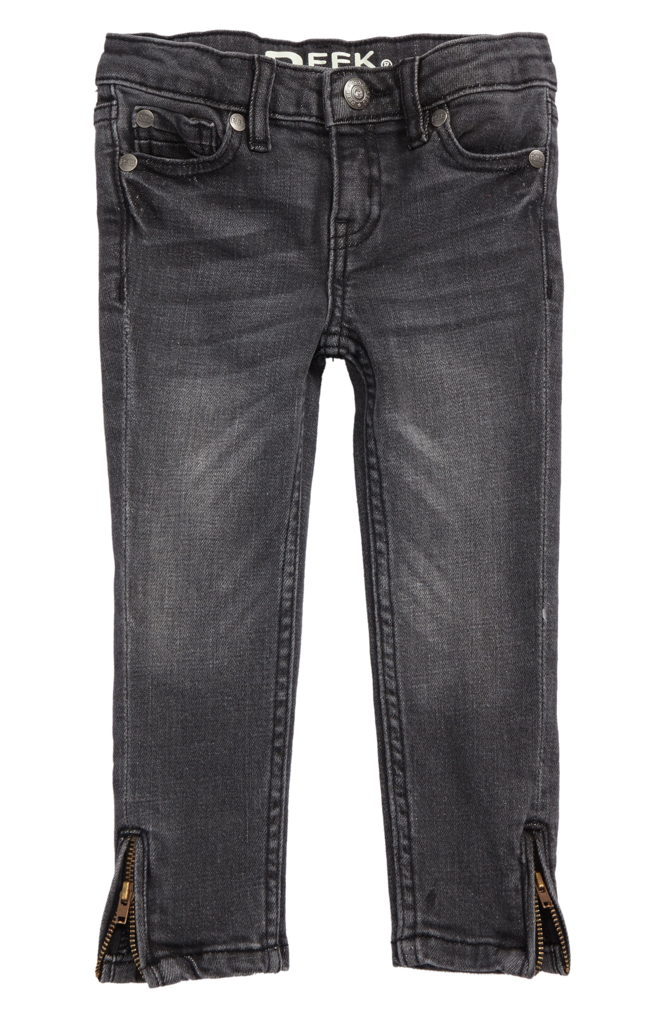 Sasha Skinny Jeans,                         Main,                         color, Grey