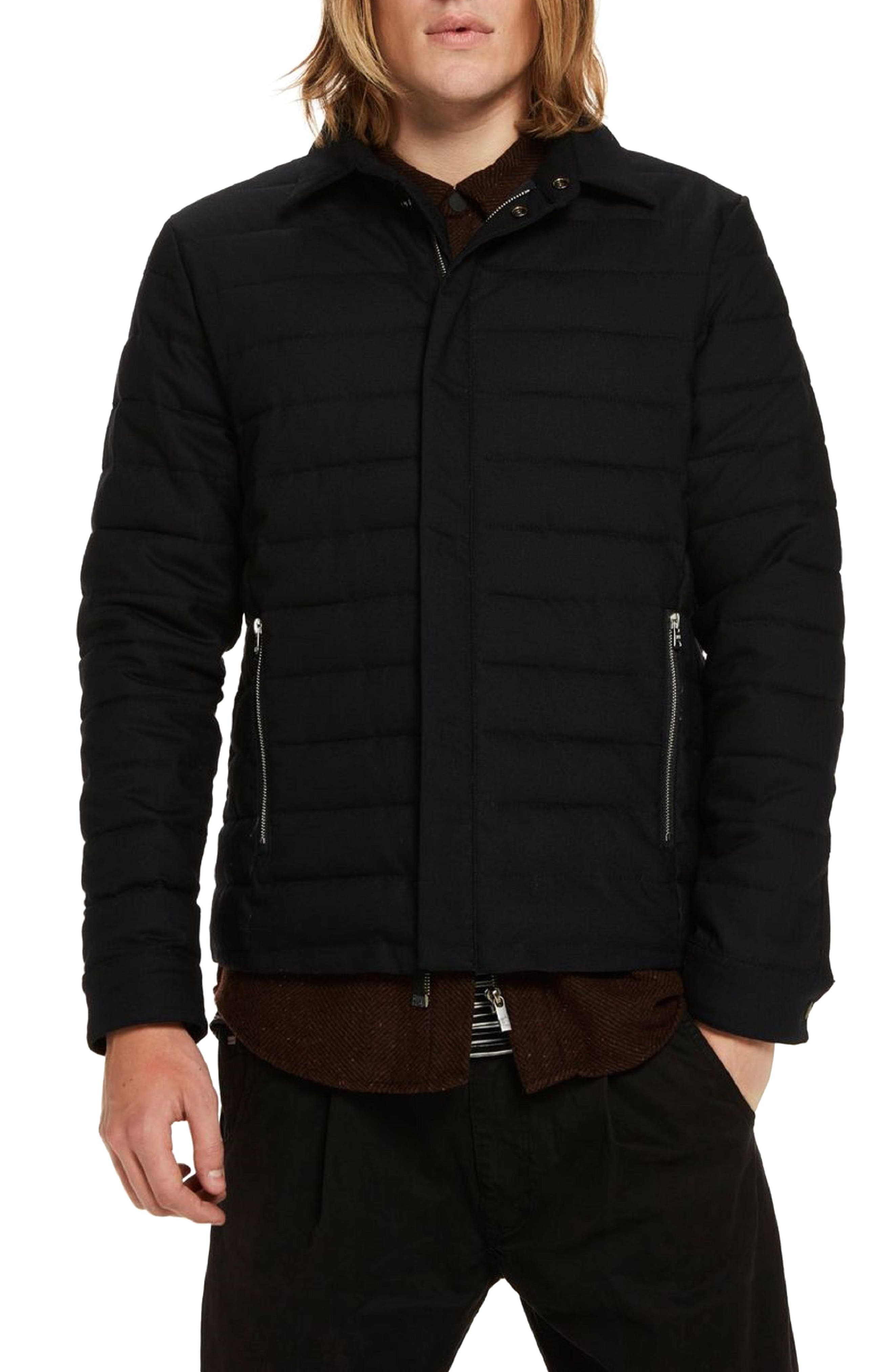 Quilted Jacket,                         Main,                         color, Night