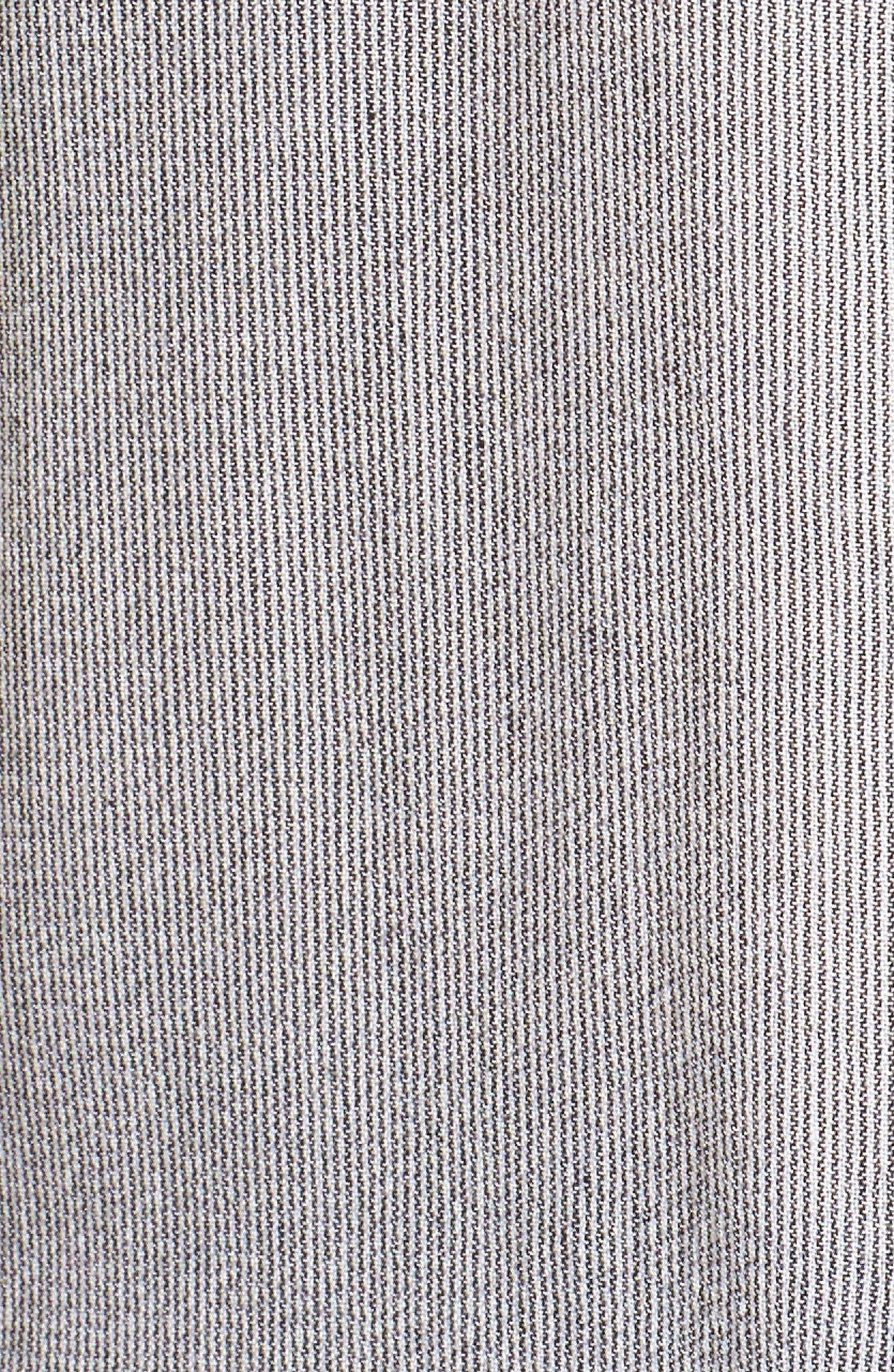 Stripe Dolman Top,                             Alternate thumbnail 5, color,                             White Game On Stripe