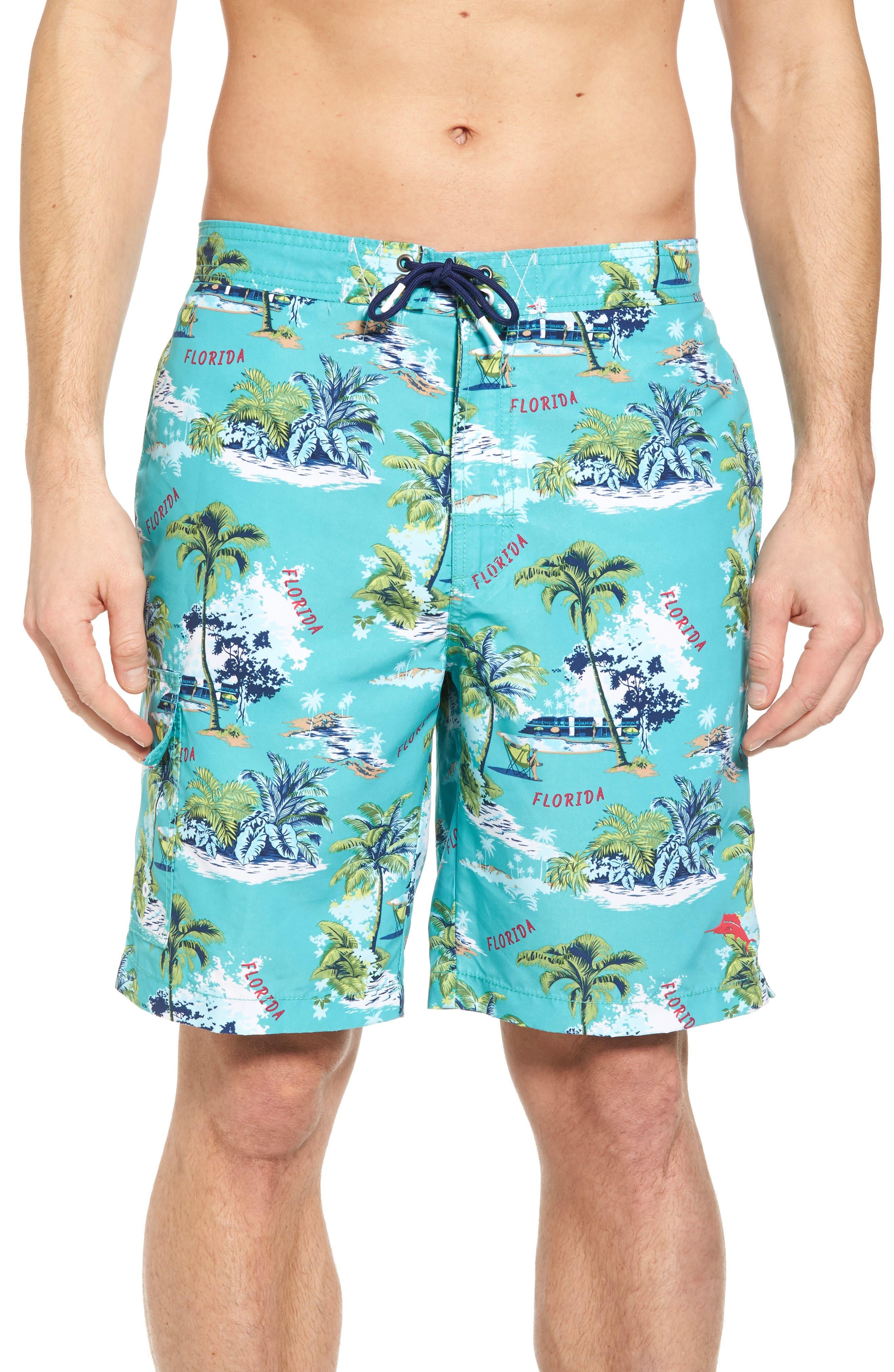 Tommy Bahama Baja Destination Florida Swim Trunks