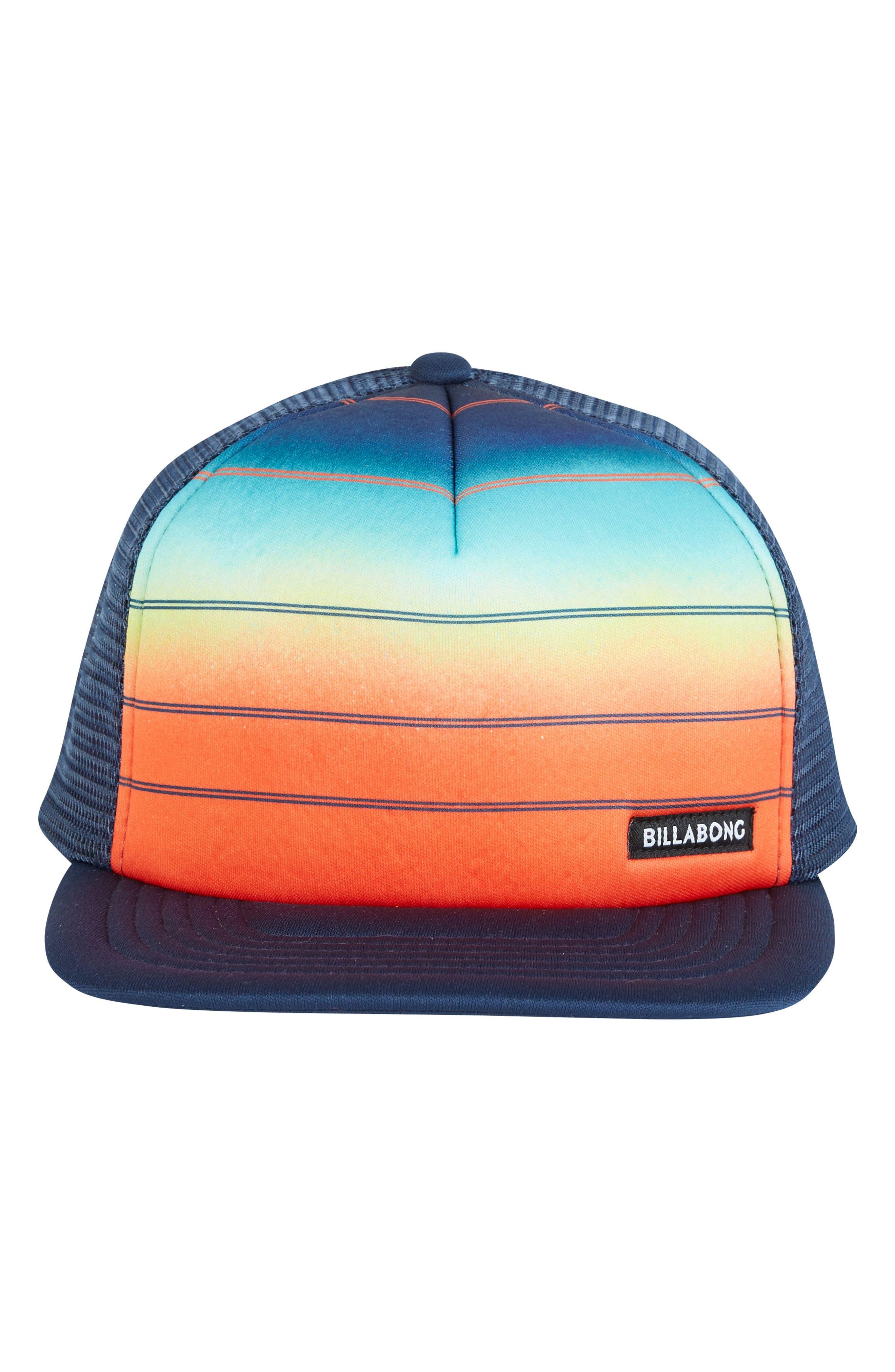 73 Snapback Trucker Hat,                             Alternate thumbnail 3, color,                             Orange