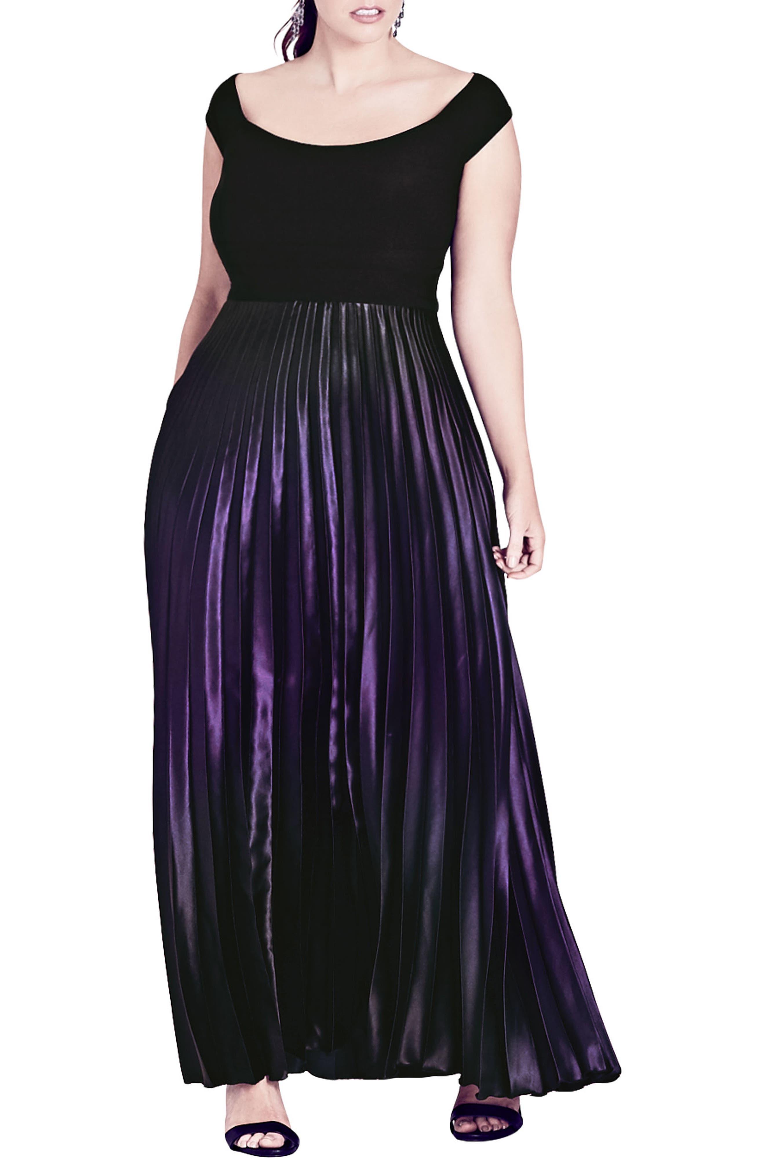 Passion Ombré Gown,                         Main,                         color, Passion