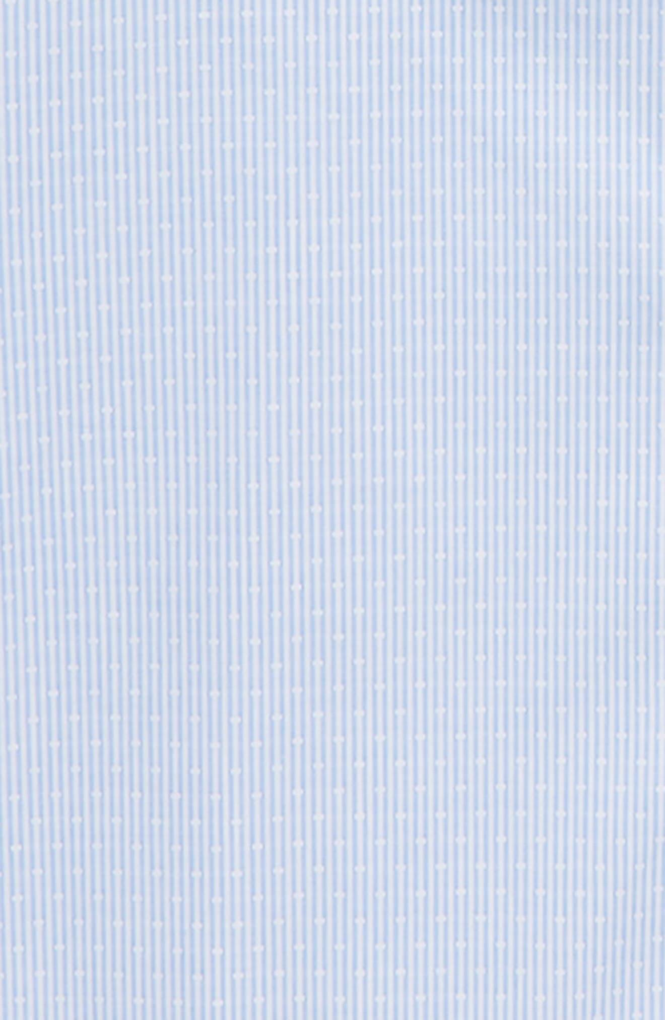 Stripe Dress Shirt,                             Alternate thumbnail 2, color,                             Blue