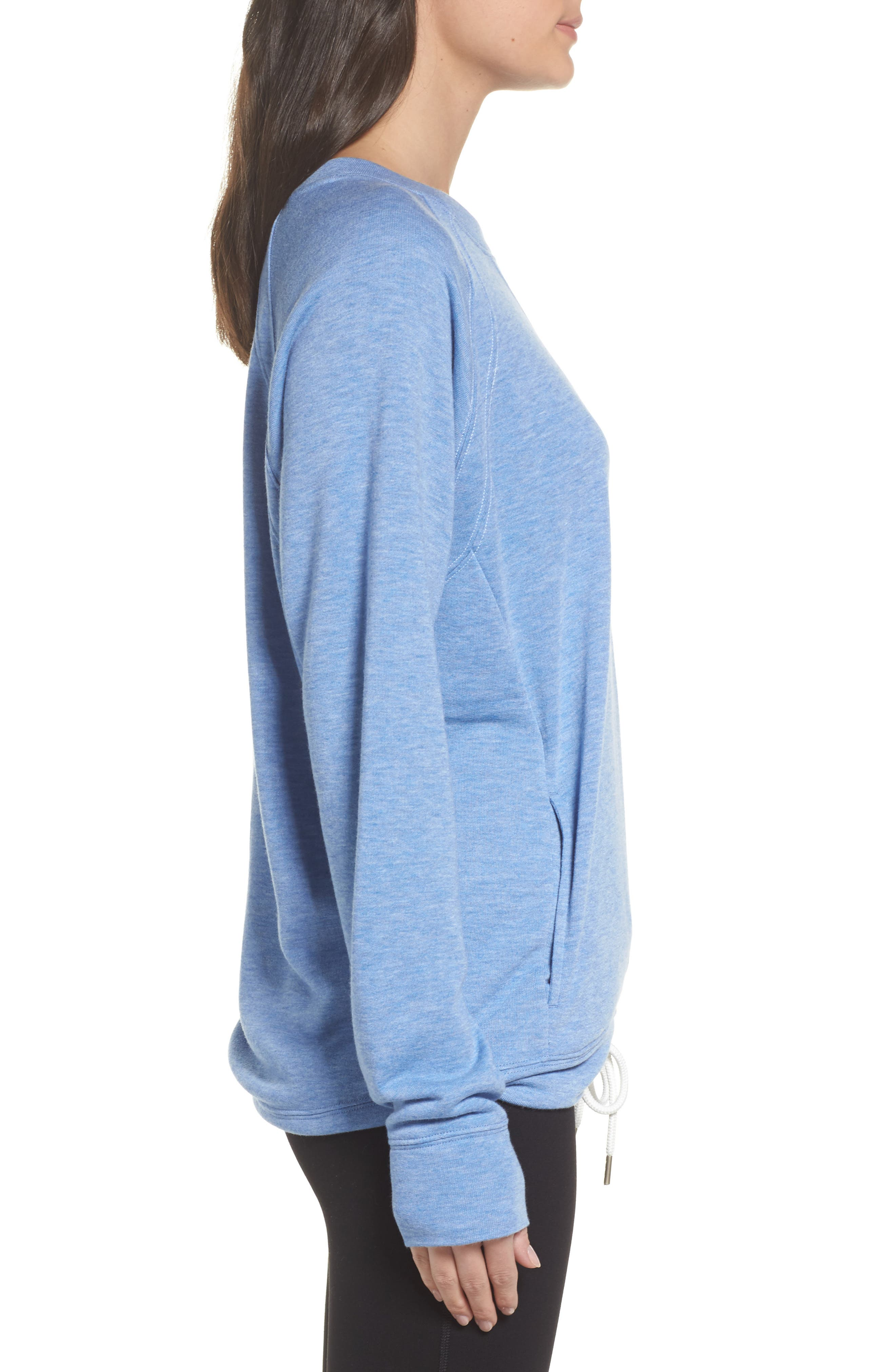 Draw Em In Pullover,                             Alternate thumbnail 3, color,                             Blue Haze Heather