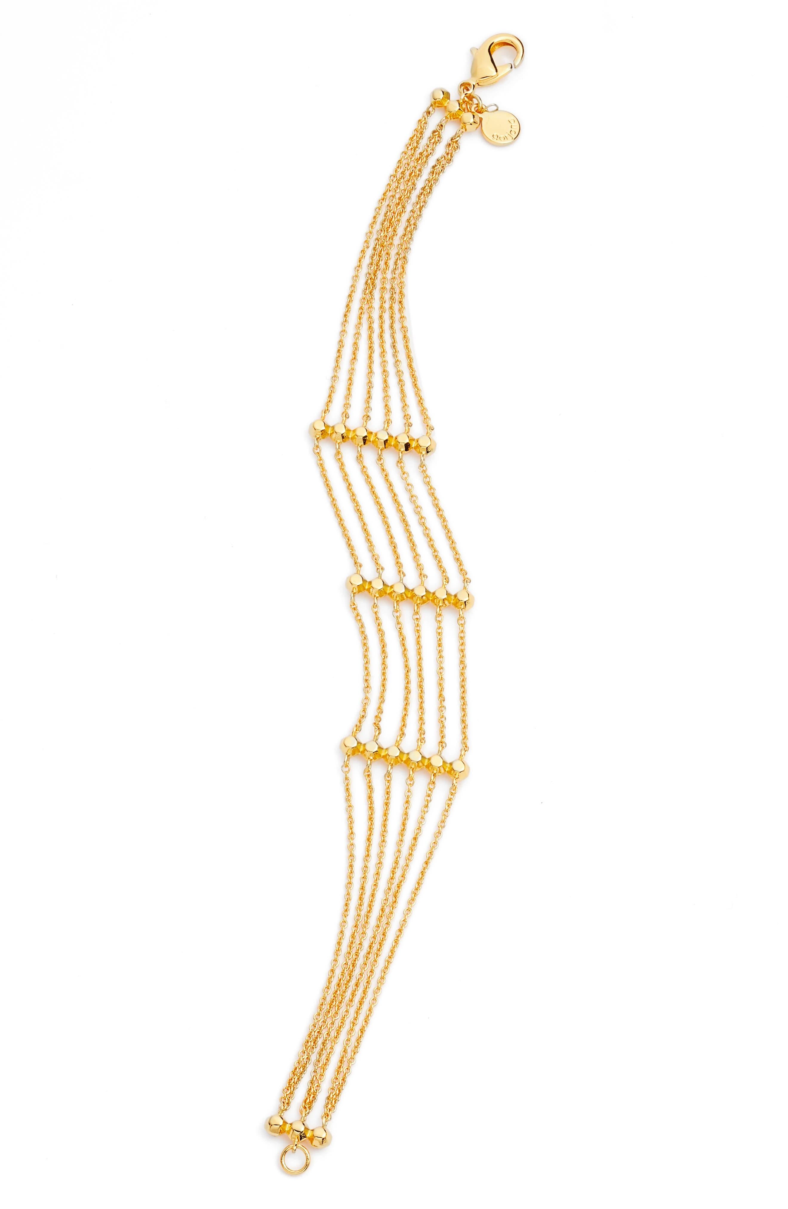 gorjana Gold Rush Multistrand Bracelet
