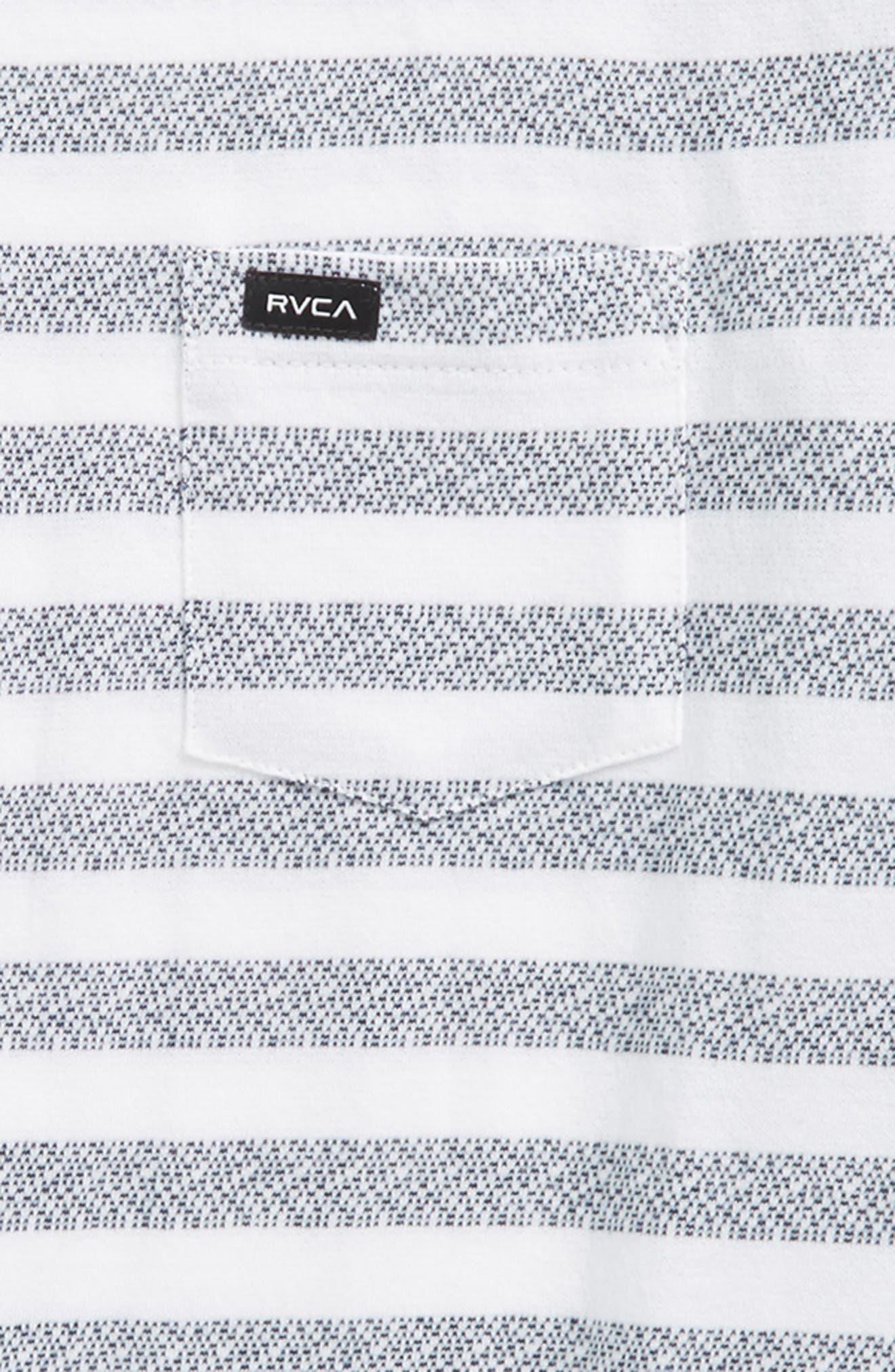 What's Shakin' Stripe T-Shirt,                             Alternate thumbnail 2, color,                             Antique White