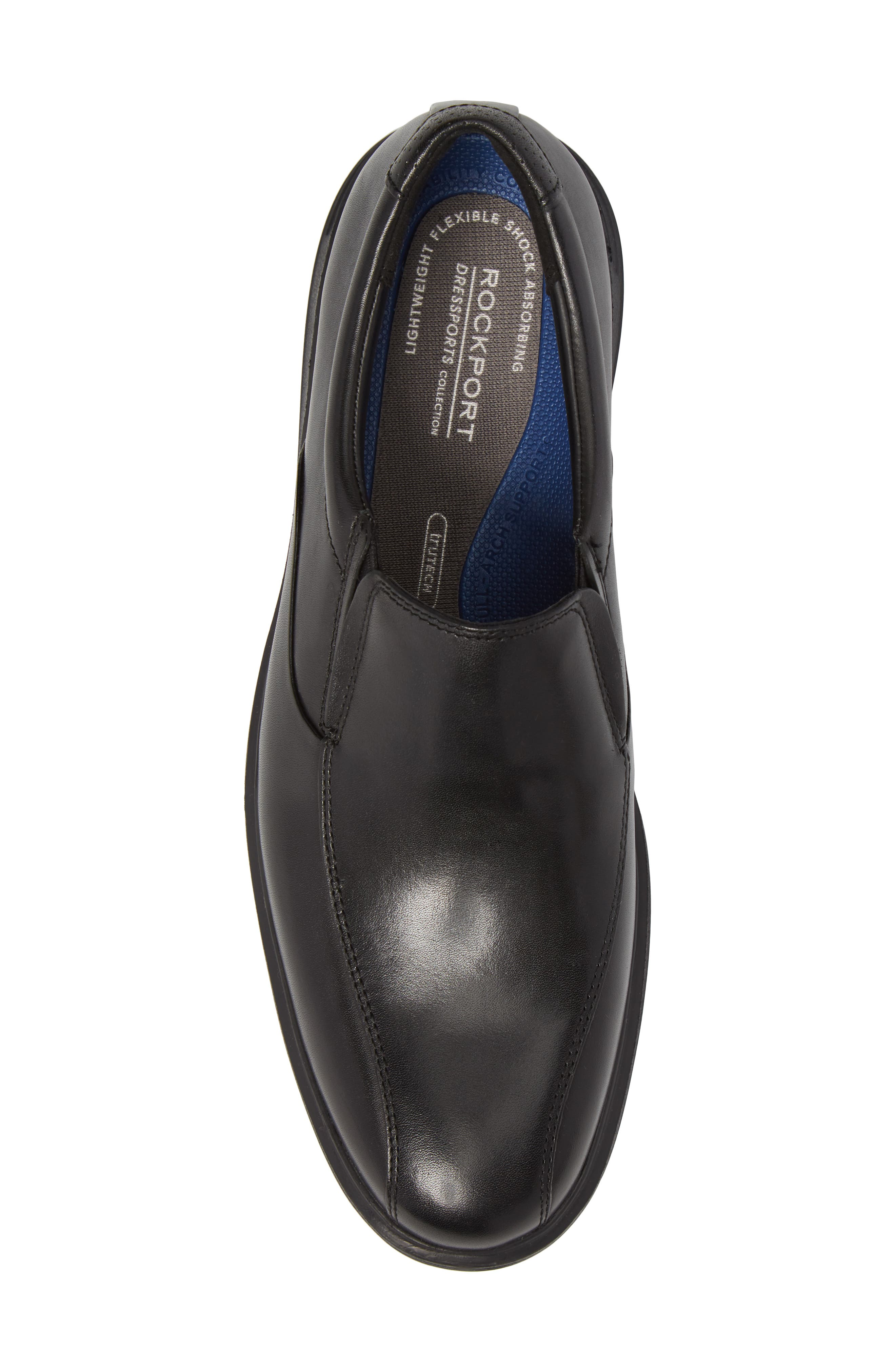 Dressports 2 Lite Venetian Loafer,                             Alternate thumbnail 5, color,                             Black Leather